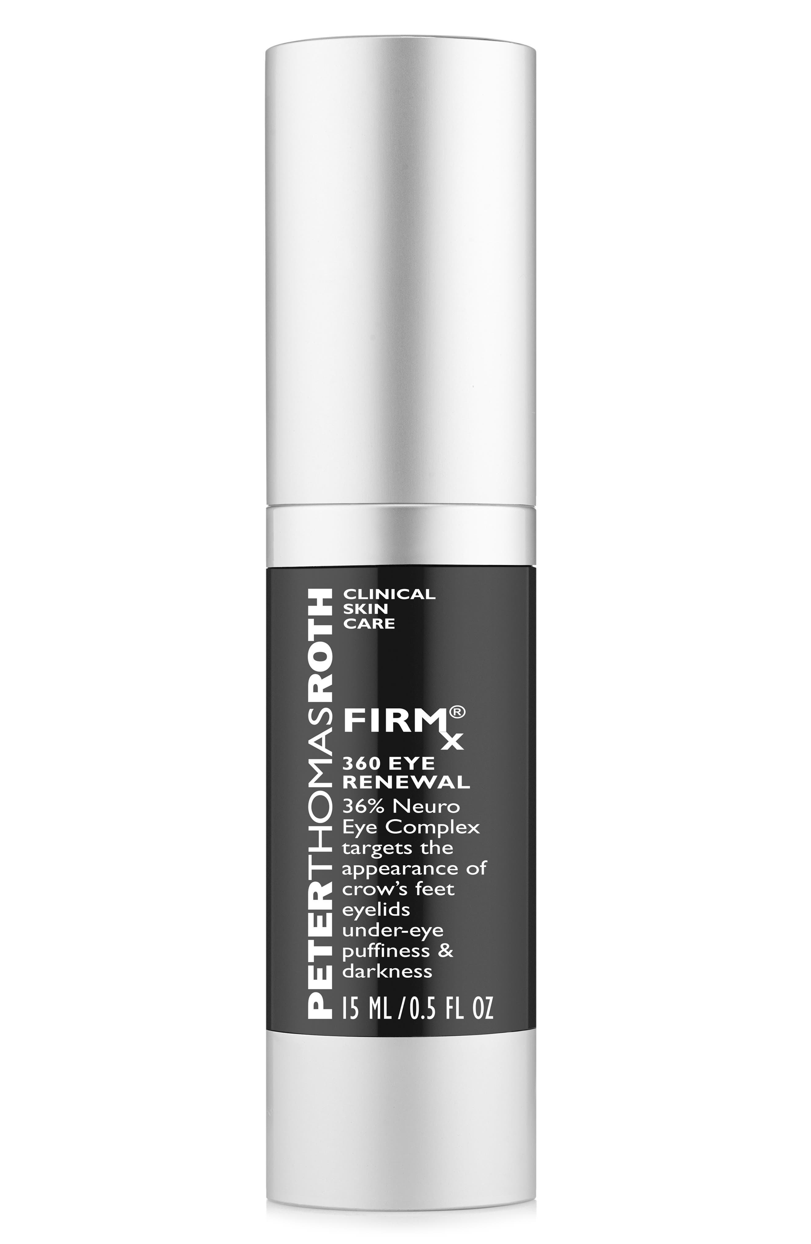 PETER THOMAS ROTH, FirmX 360 Eye Renewal Serum, Main thumbnail 1, color, NO COLOR