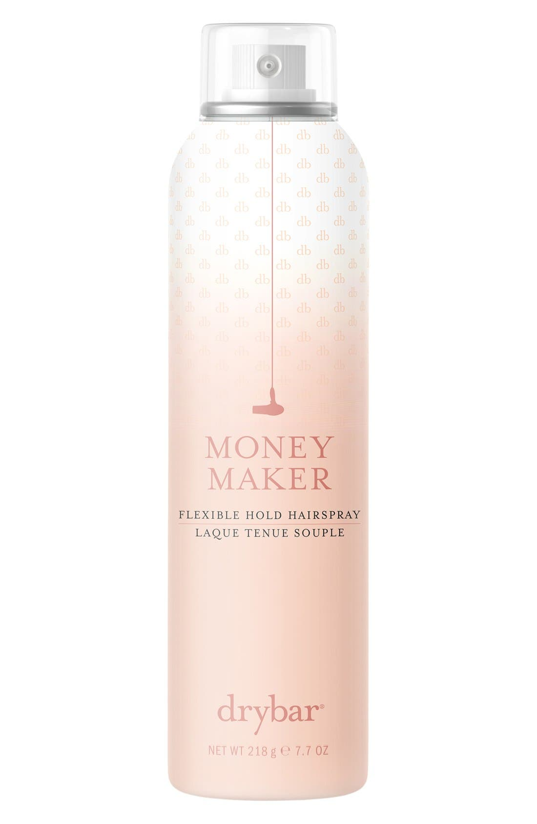 DRYBAR, Money Maker Flexible Hold Hairspray, Main thumbnail 1, color, NO COLOR