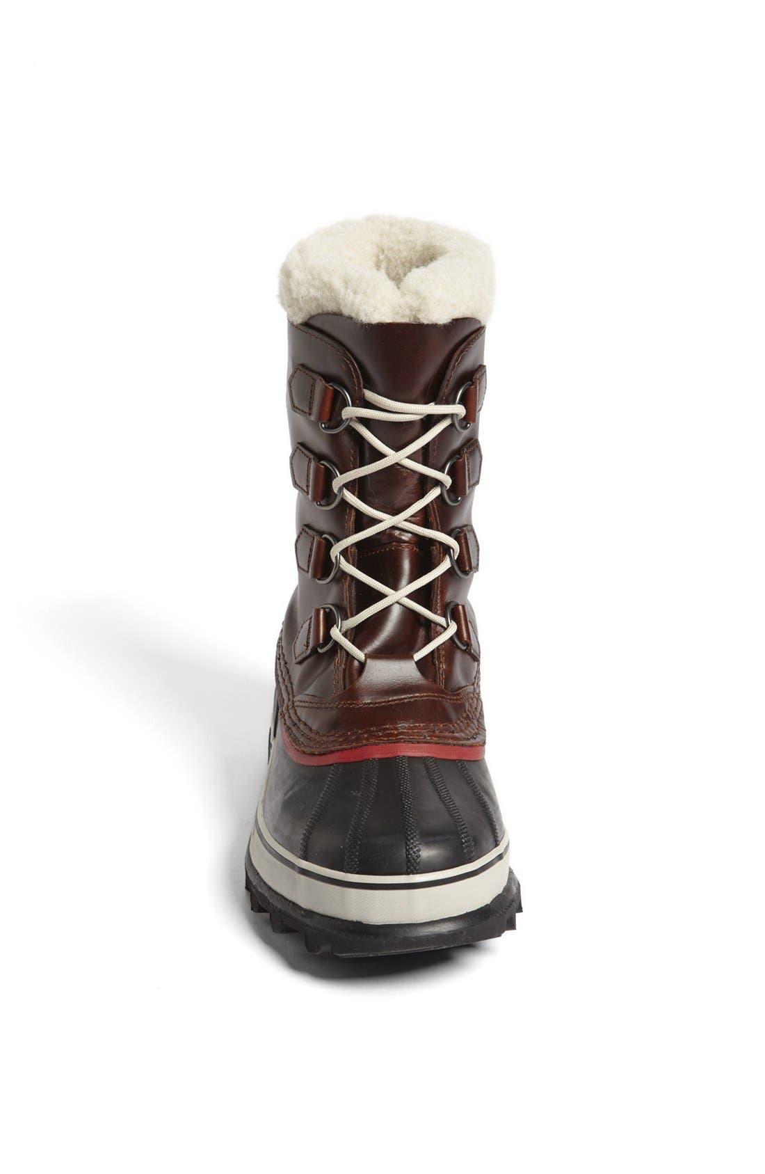 SOREL, 'Caribou' Snow Boot, Alternate thumbnail 3, color, 219