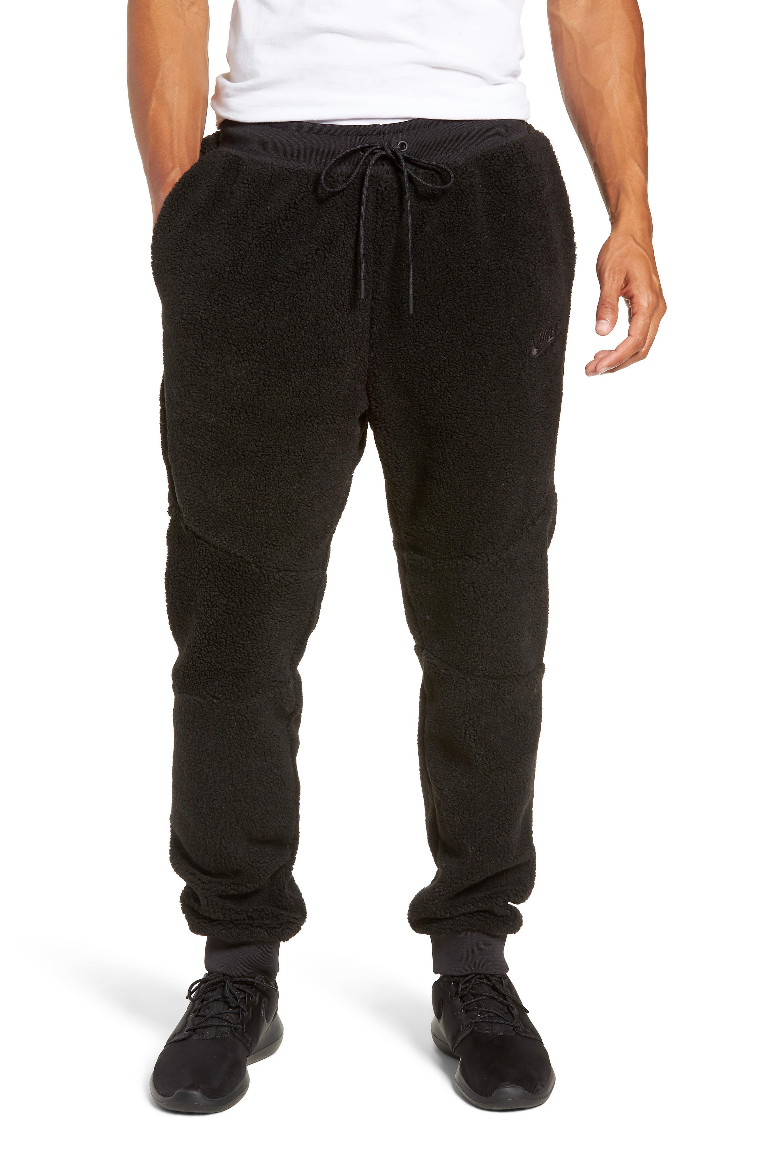 NIKE, Sportswear Tech Fleece Icon Jogger Pants, Main thumbnail 1, color, 010