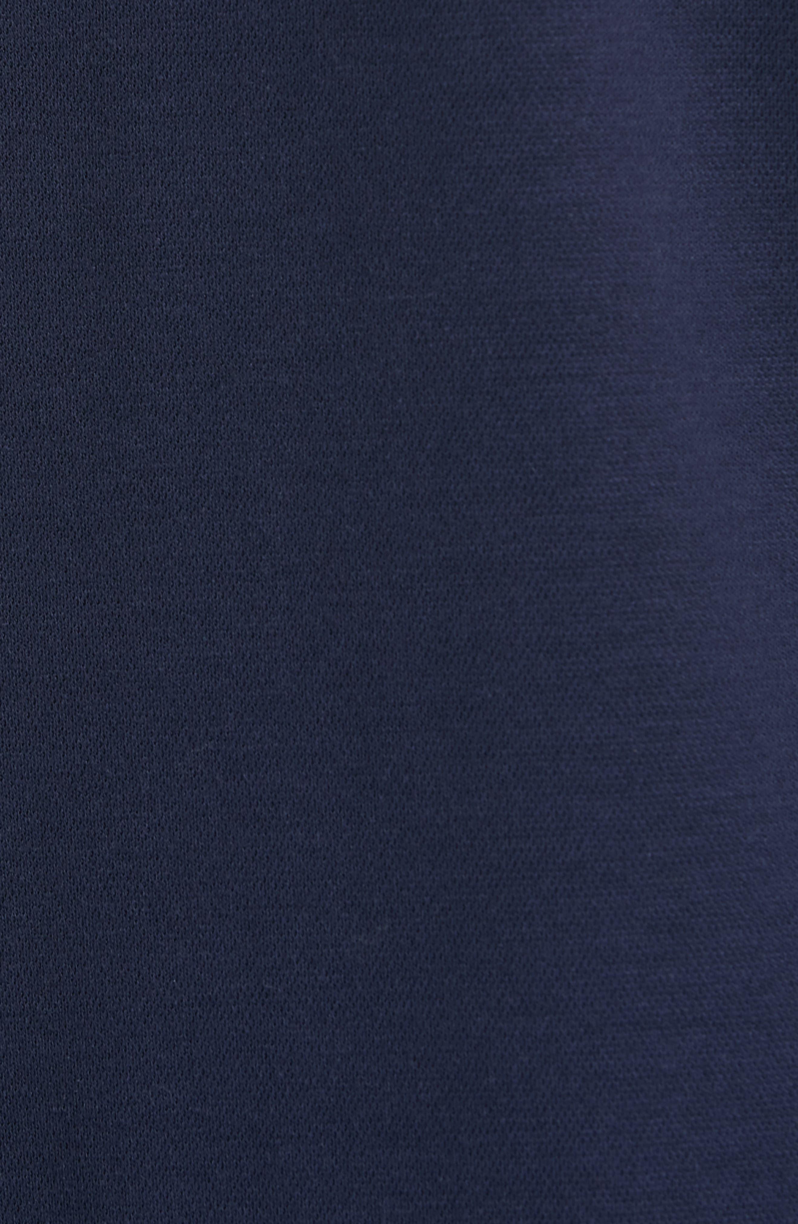 EILEEN FISHER, Knit Shift Dress, Alternate thumbnail 6, color, 402