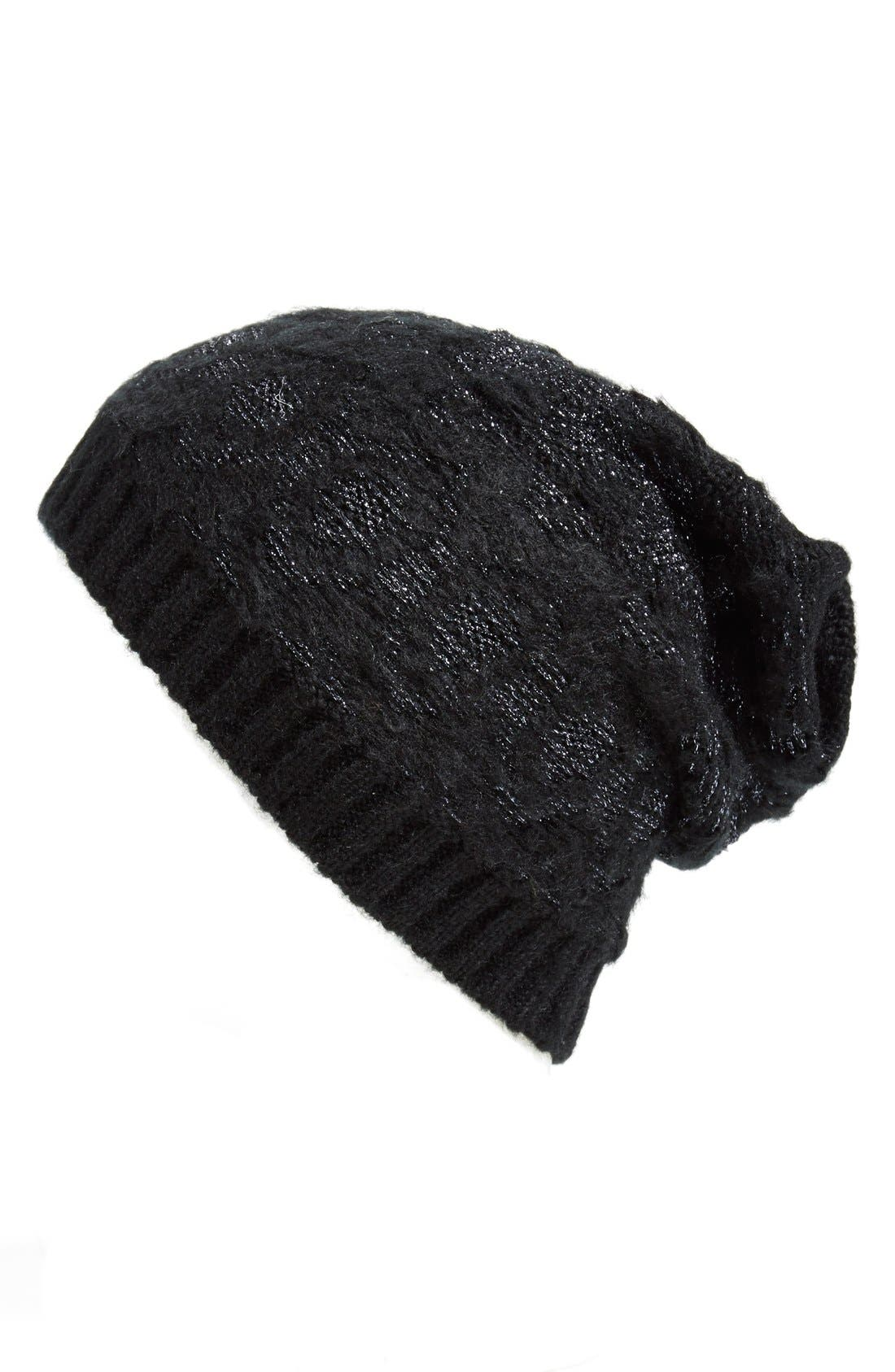 COLLECTION XIIX, 'Arctic Nation' Beanie, Main thumbnail 1, color, 006