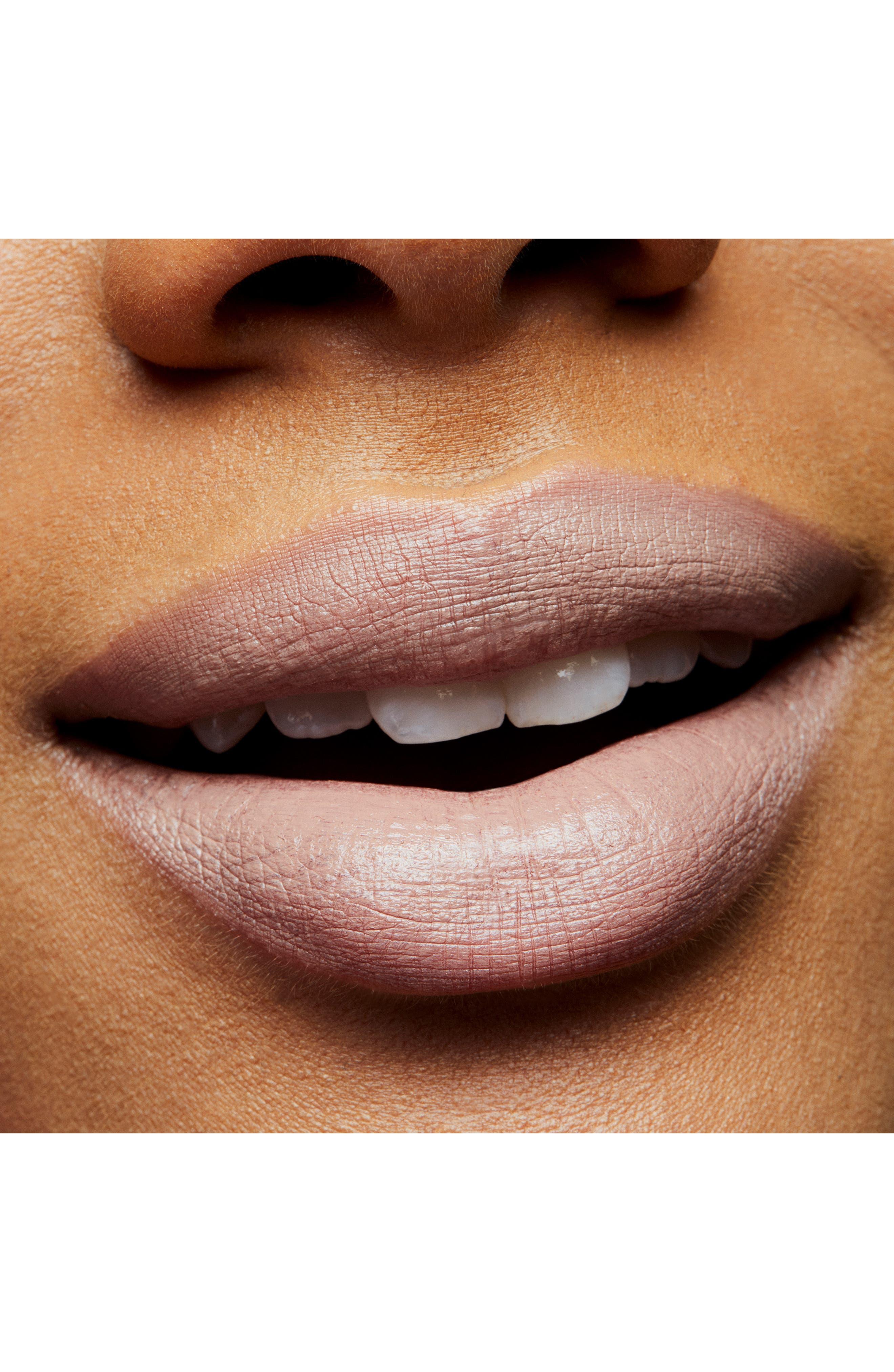 MAC COSMETICS, MAC Strip Down Nude Lipstick, Alternate thumbnail 3, color, ACT NATURAL