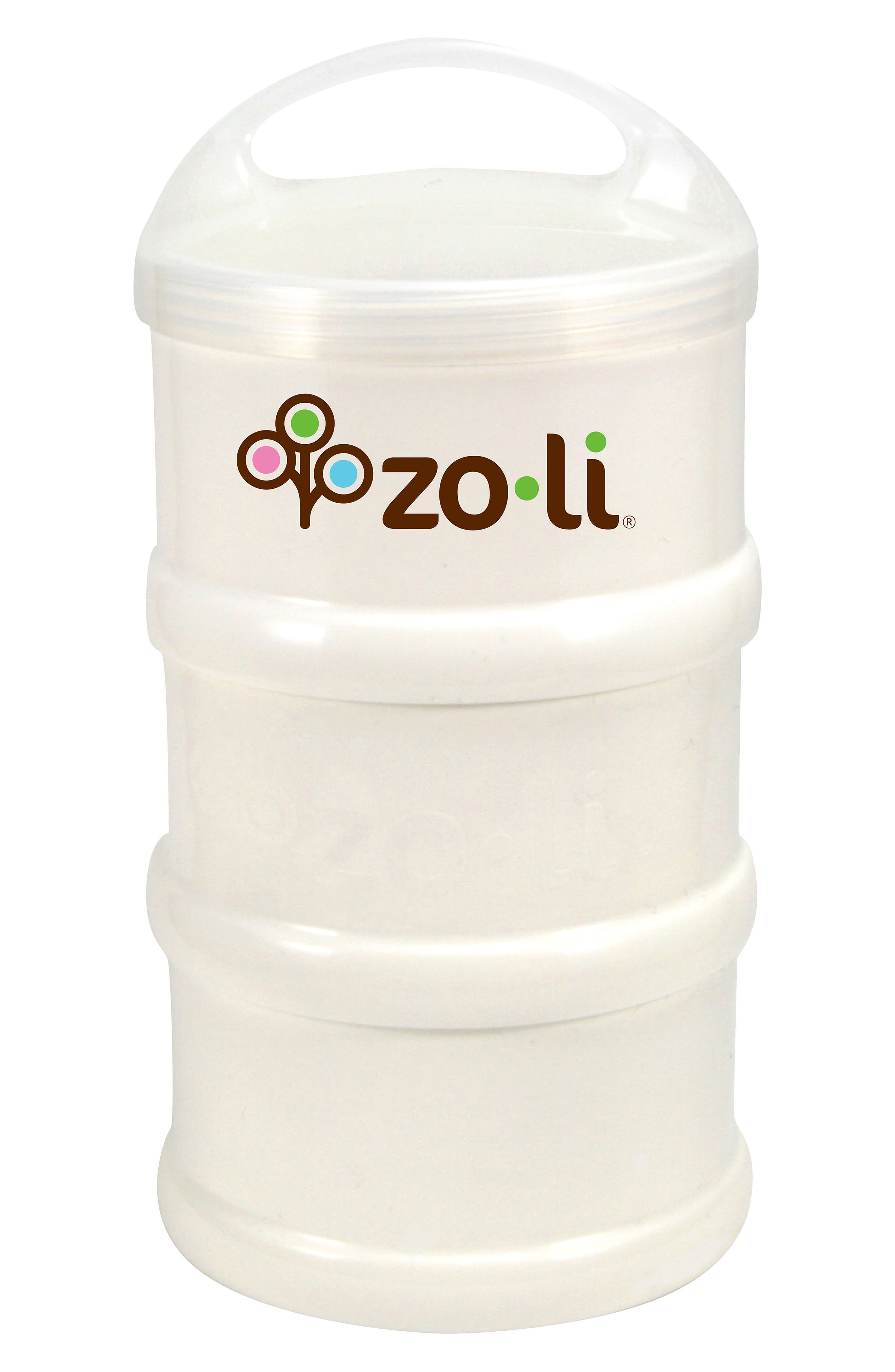 Infant Zoli Sumo 3Pack Snack Stacker Cups Size One Size  White