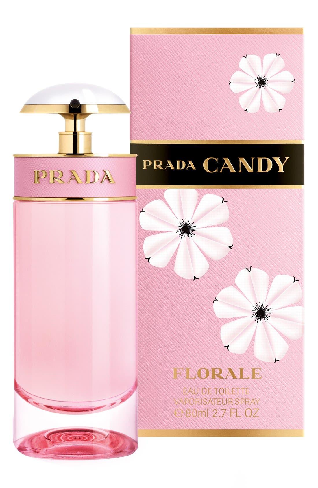 PRADA, Candy Florale Eau de Toilette, Alternate thumbnail 3, color, NO COLOR