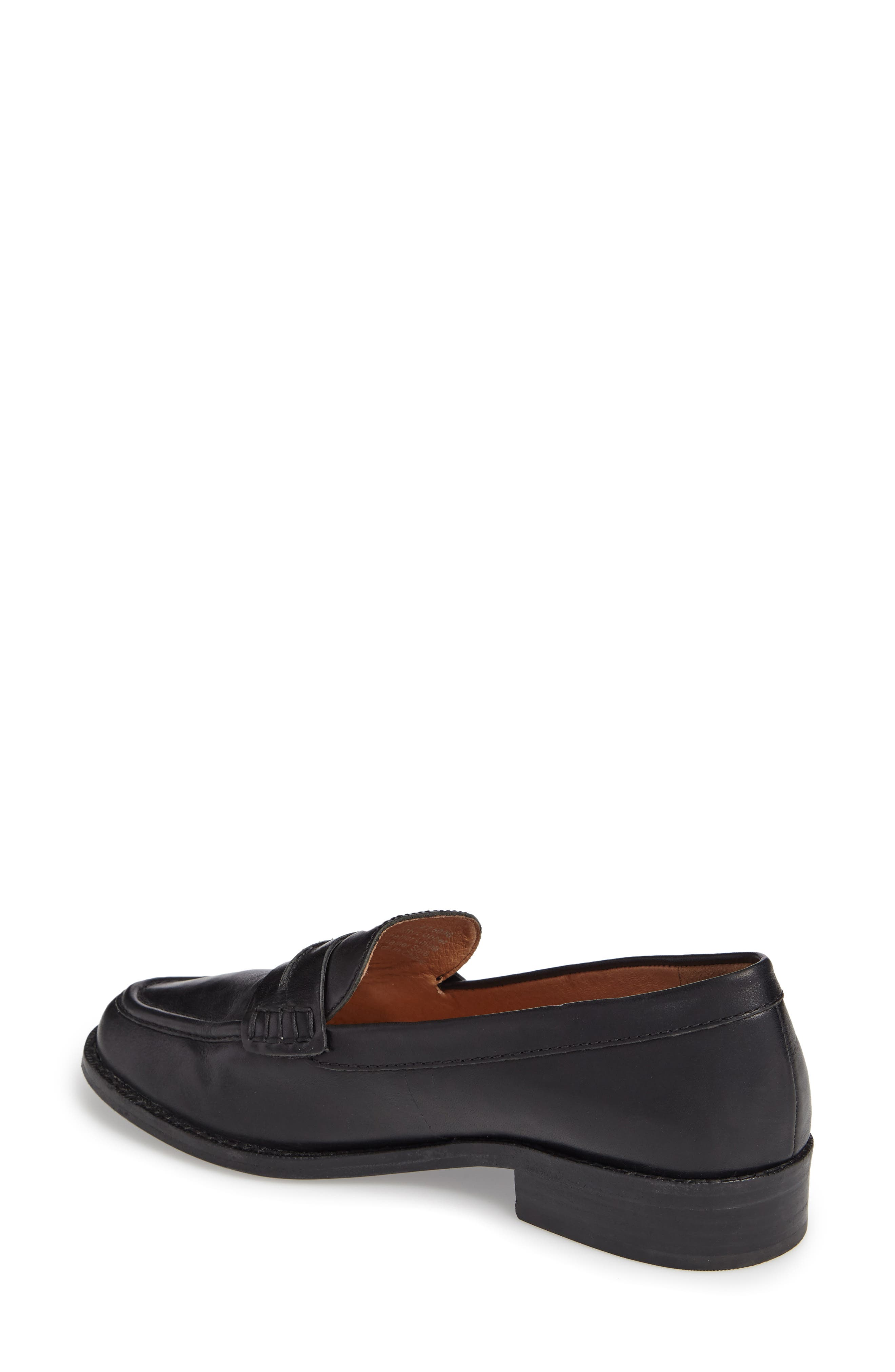 MADEWELL, The Elinor Loafer, Alternate thumbnail 2, color, 001