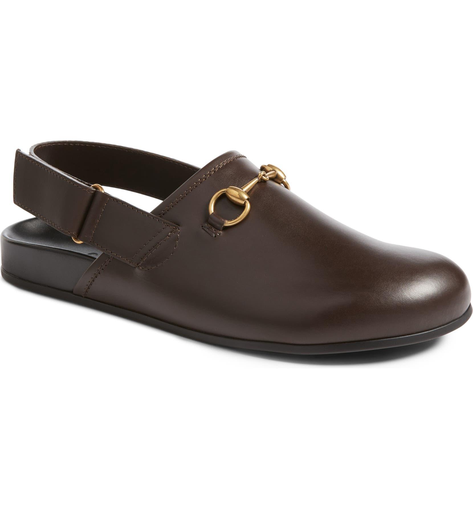 f69e5cdab78 Gucci River Horsebit Slingback Loafer (Men)