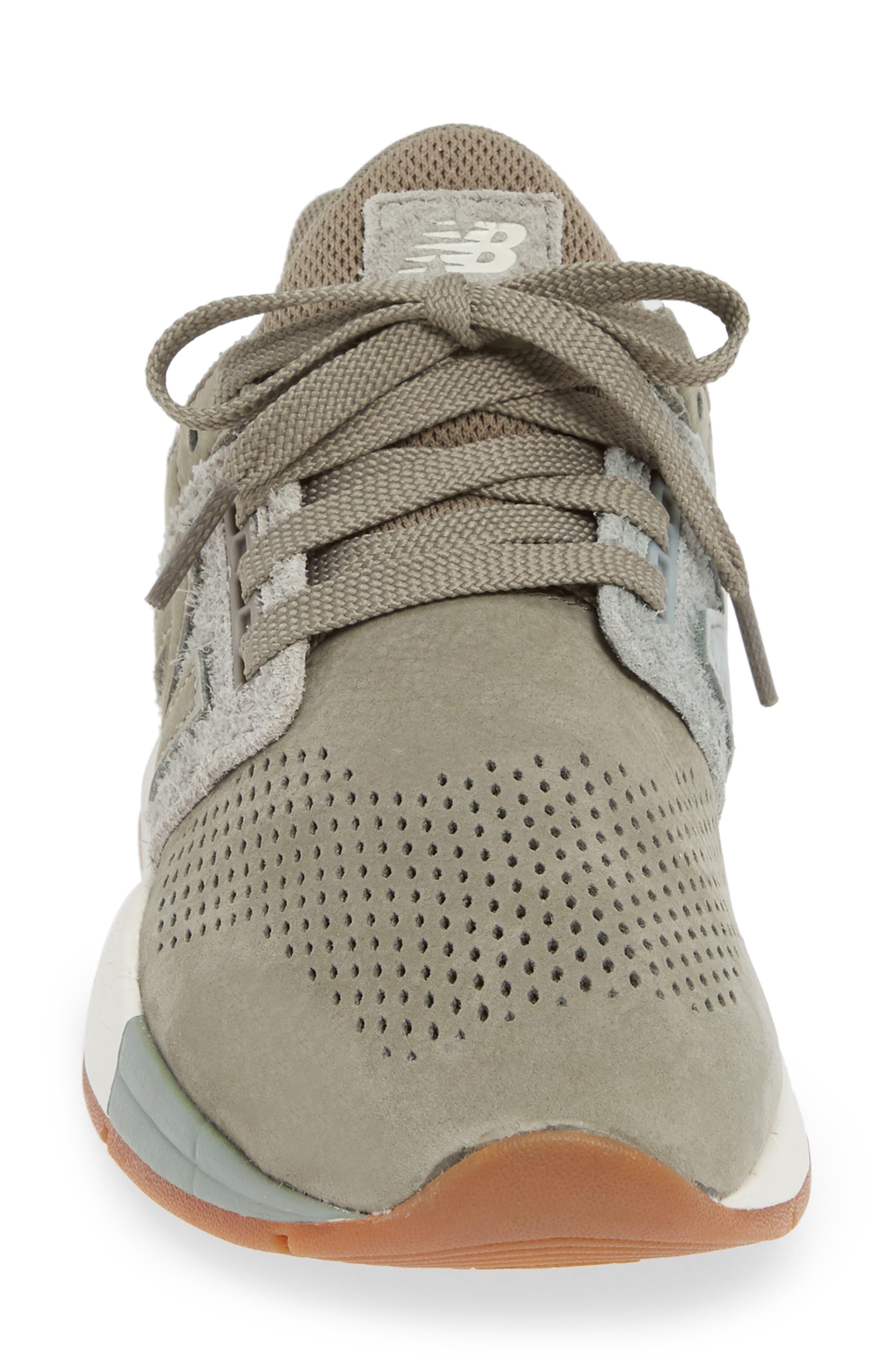 NEW BALANCE, Sport Style 247 Sneaker, Alternate thumbnail 4, color, MILITARY URBAN GREY