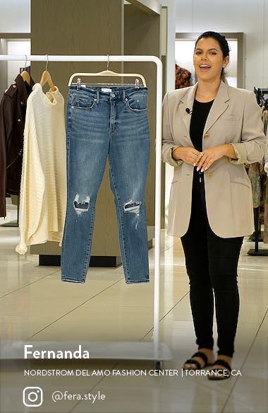 Good Legs High Waist Crop Skinny Jeans, sales video thumbnail