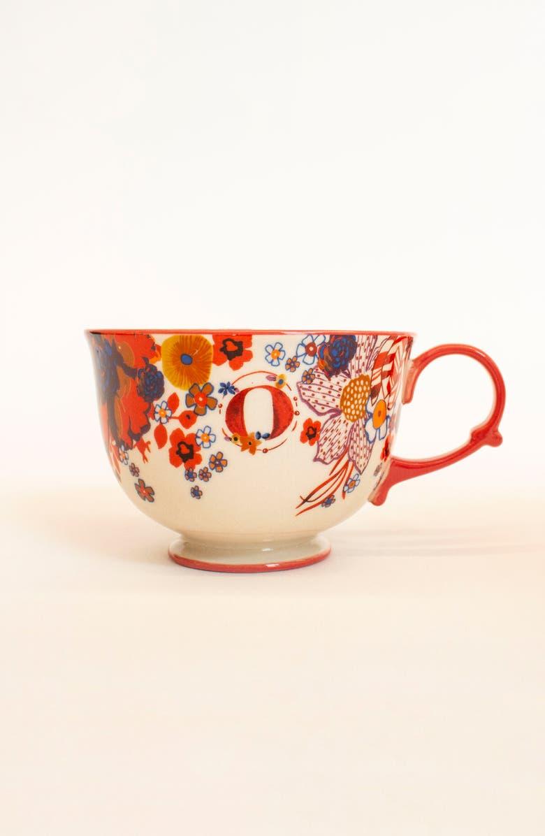 Tea Time Monogram Mug