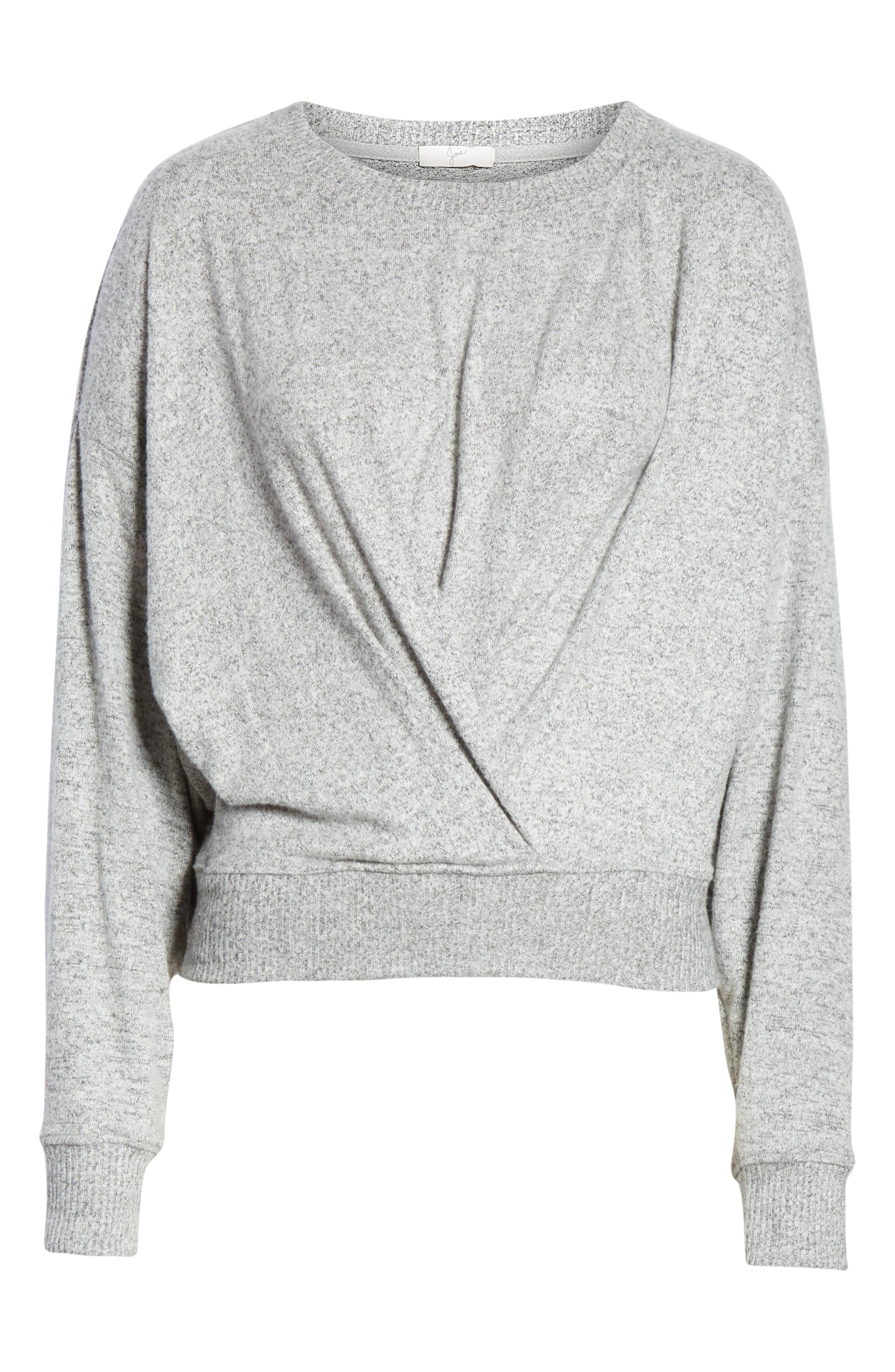JOIE, Yerrick Sweater, Alternate thumbnail 6, color, 030
