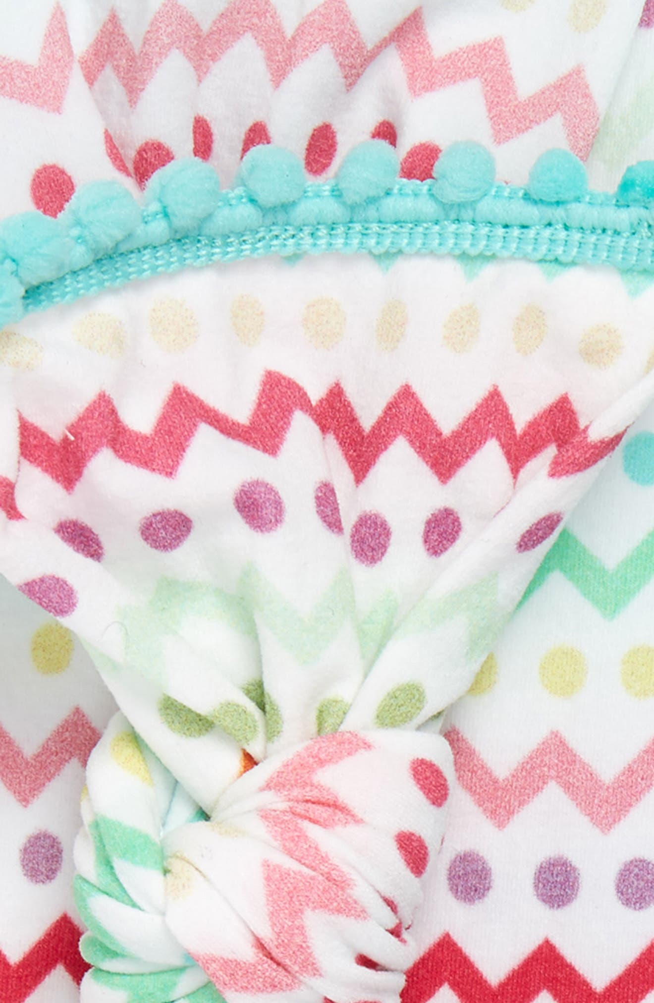 BABY BLING, 2-Pack Knotted Headbands, Alternate thumbnail 2, color, EASTER STRIPES/ MINT