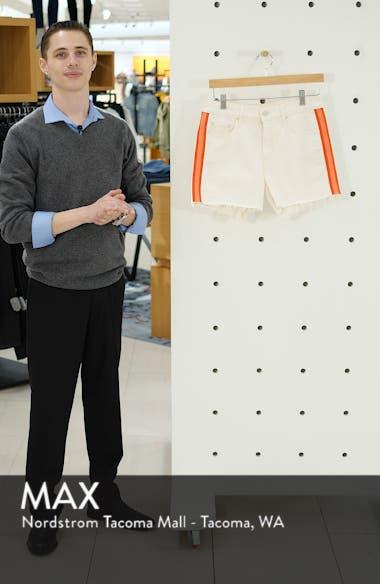 The Sinner Frayed Denim Shorts, sales video thumbnail
