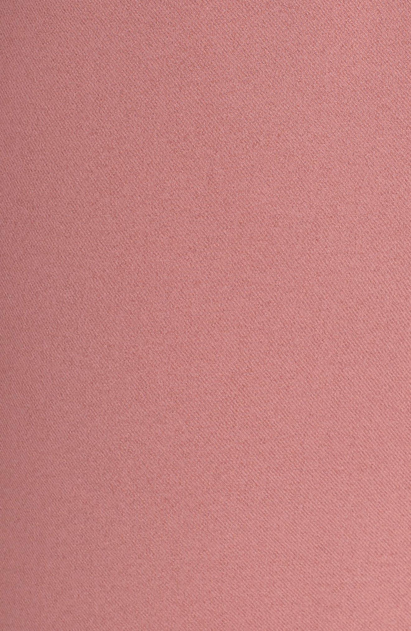 CHELSEA28, Faux Wrap Jumpsuit, Alternate thumbnail 6, color, 510