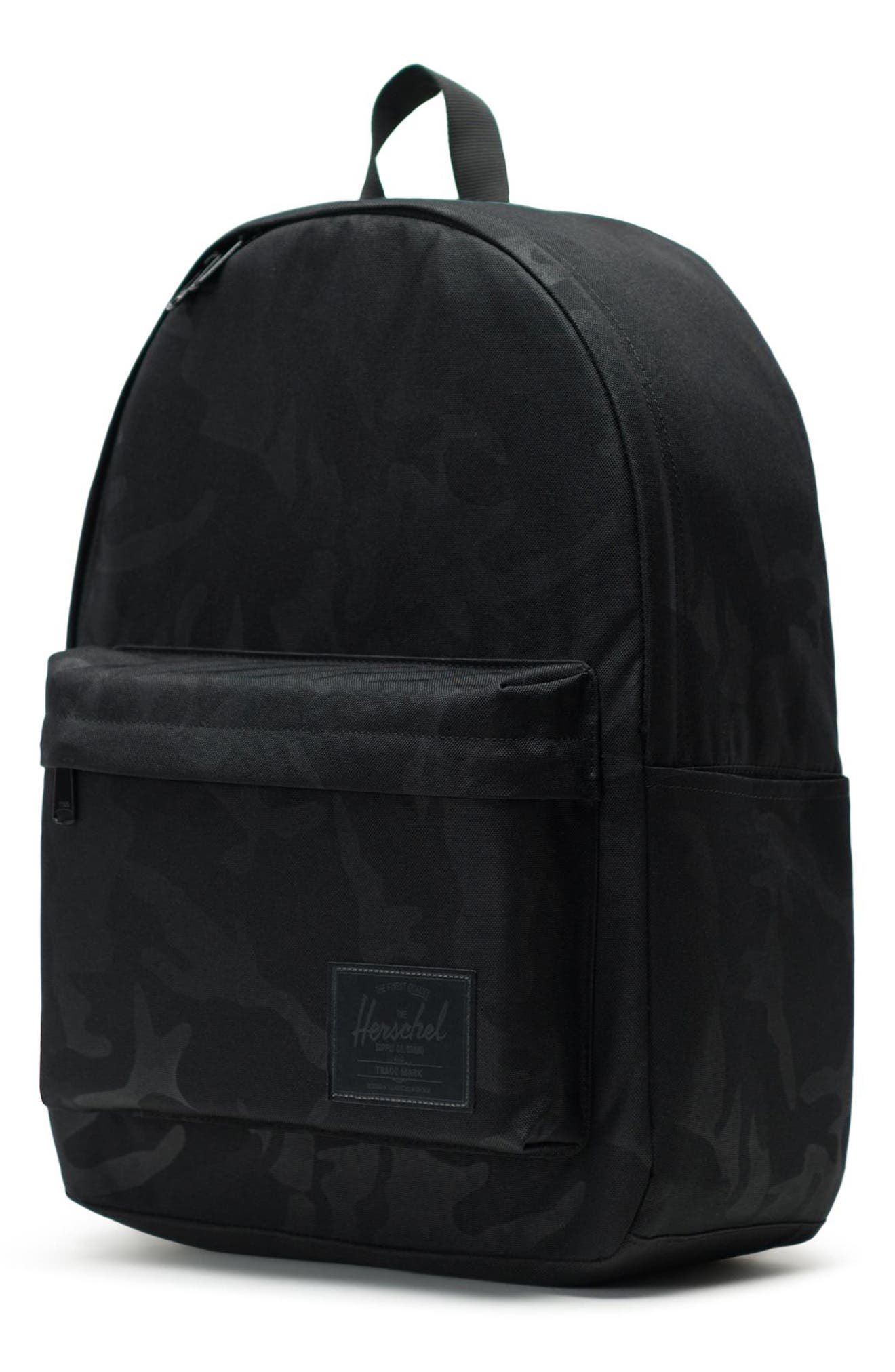 HERSCHEL SUPPLY CO., Classic XL Backpack, Alternate thumbnail 4, color, BLACK/ TONAL CAMO