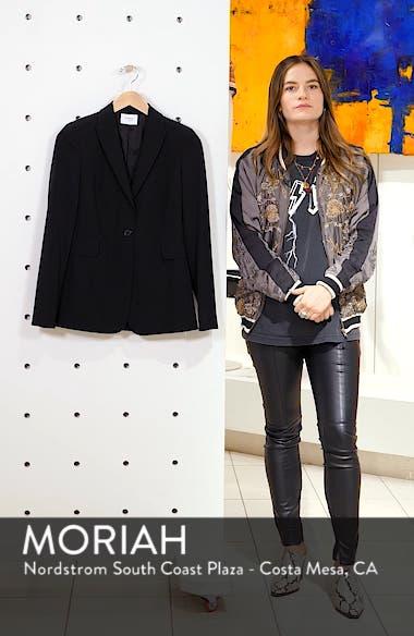 Long One-Button Jacket, sales video thumbnail