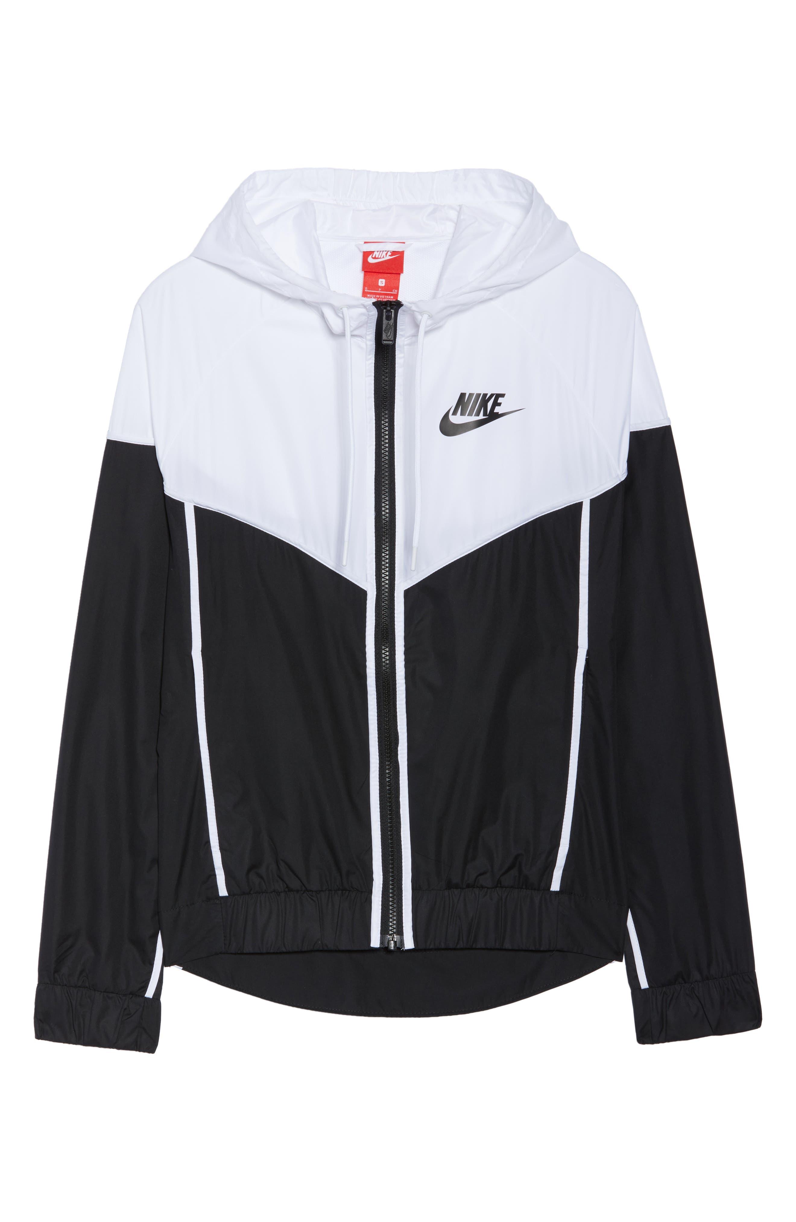 NIKE, Sportswear Windrunner Jacket, Alternate thumbnail 6, color, 011