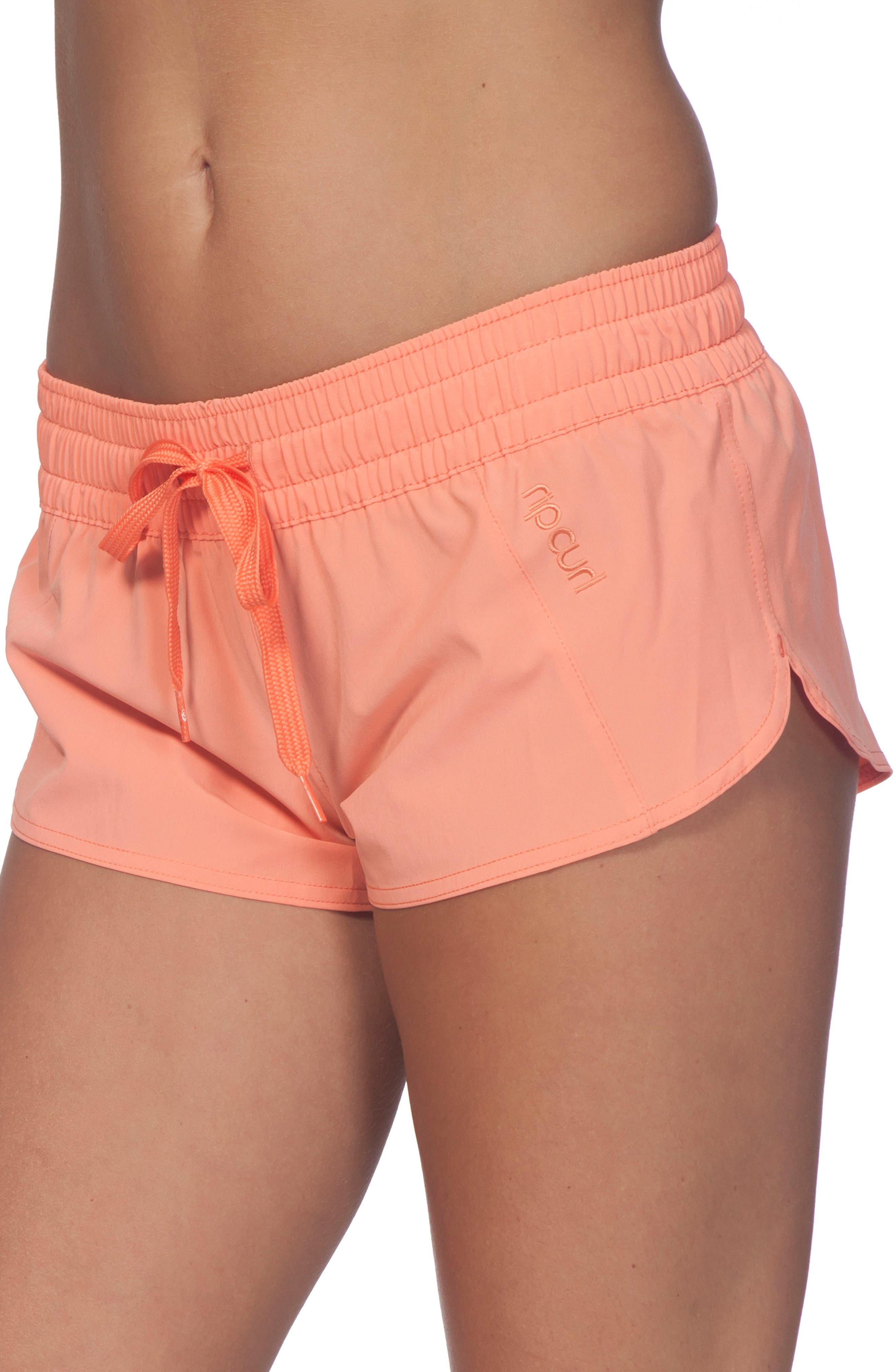 RIP CURL, Classic Surf 2 Boardie Shorts, Alternate thumbnail 3, color, HOT CORAL