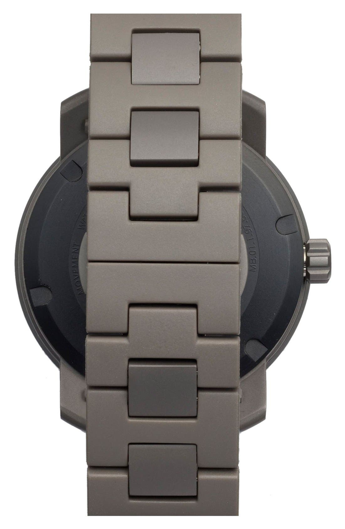 MOVADO, 'Bold' Bracelet Watch, 46mm, Alternate thumbnail 2, color, 001