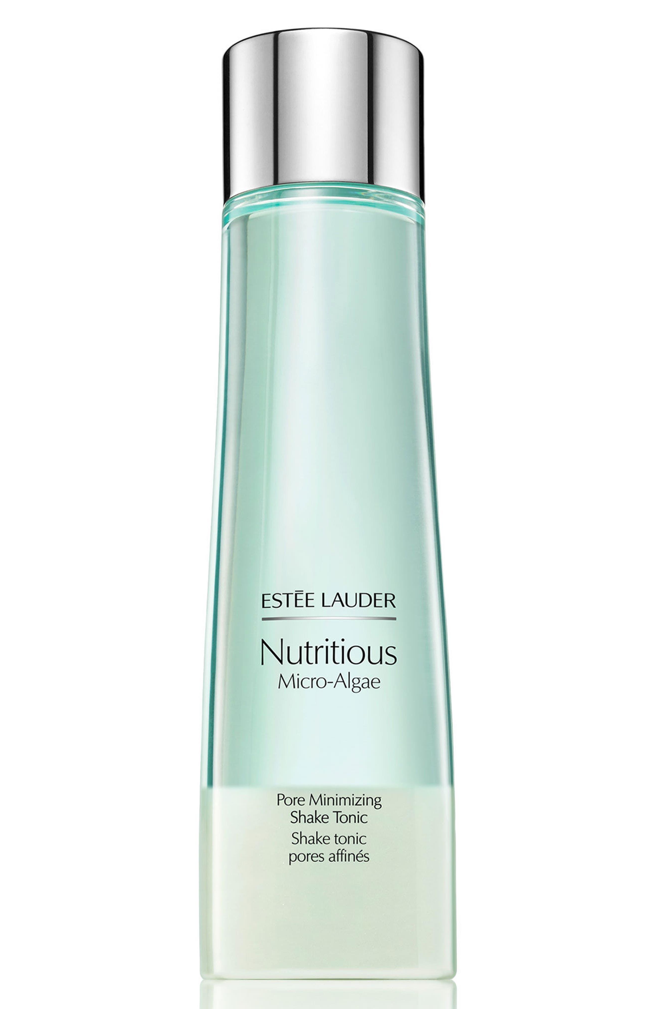 ESTÉE LAUDER, Nutritious Micro-Algae Pore Minimizing Shake Tonic, Main thumbnail 1, color, NO COLOR