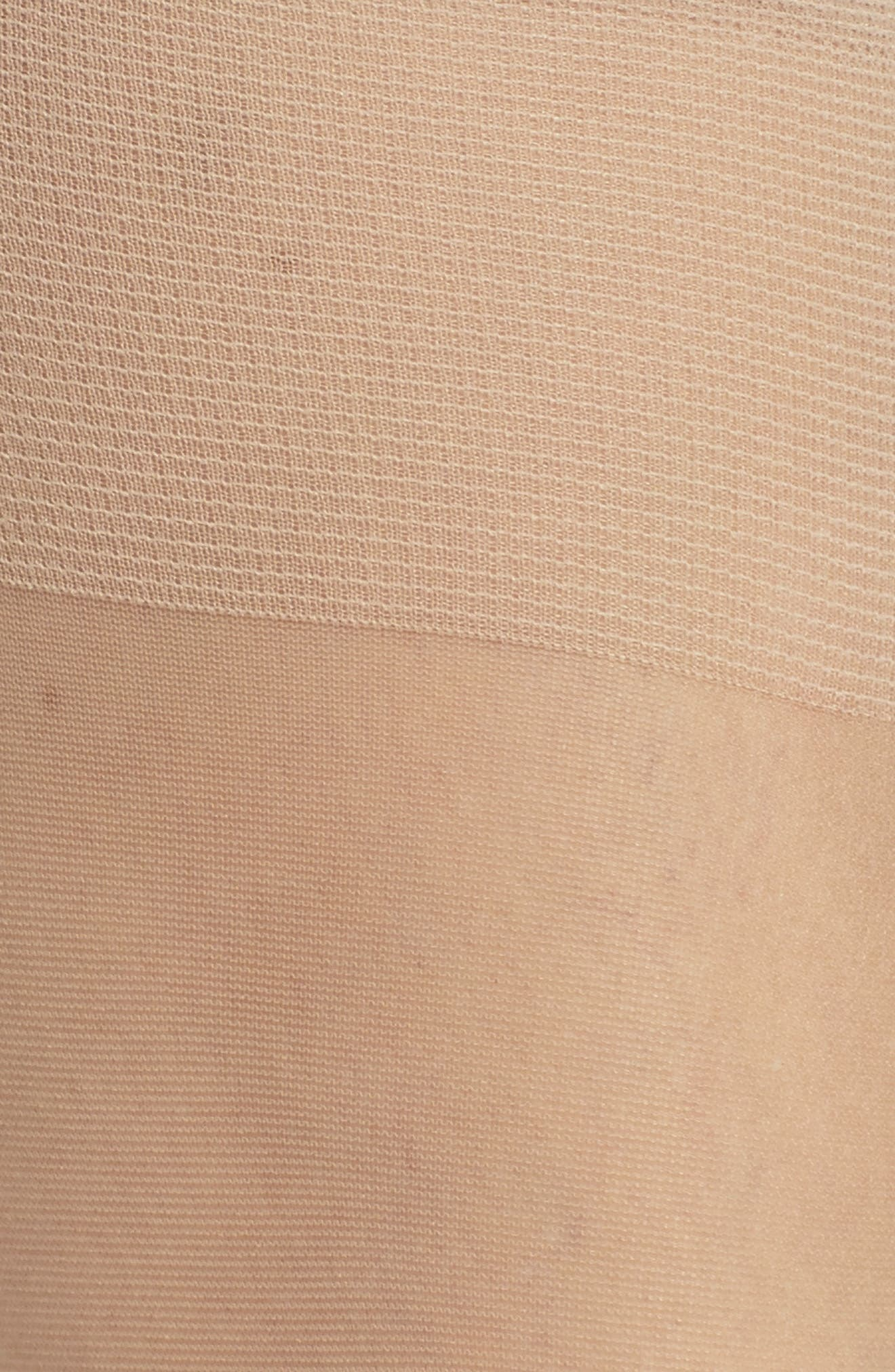 NORDSTROM, 3-Pack Sheer Knee Highs, Alternate thumbnail 3, color, LIGHT NUDE