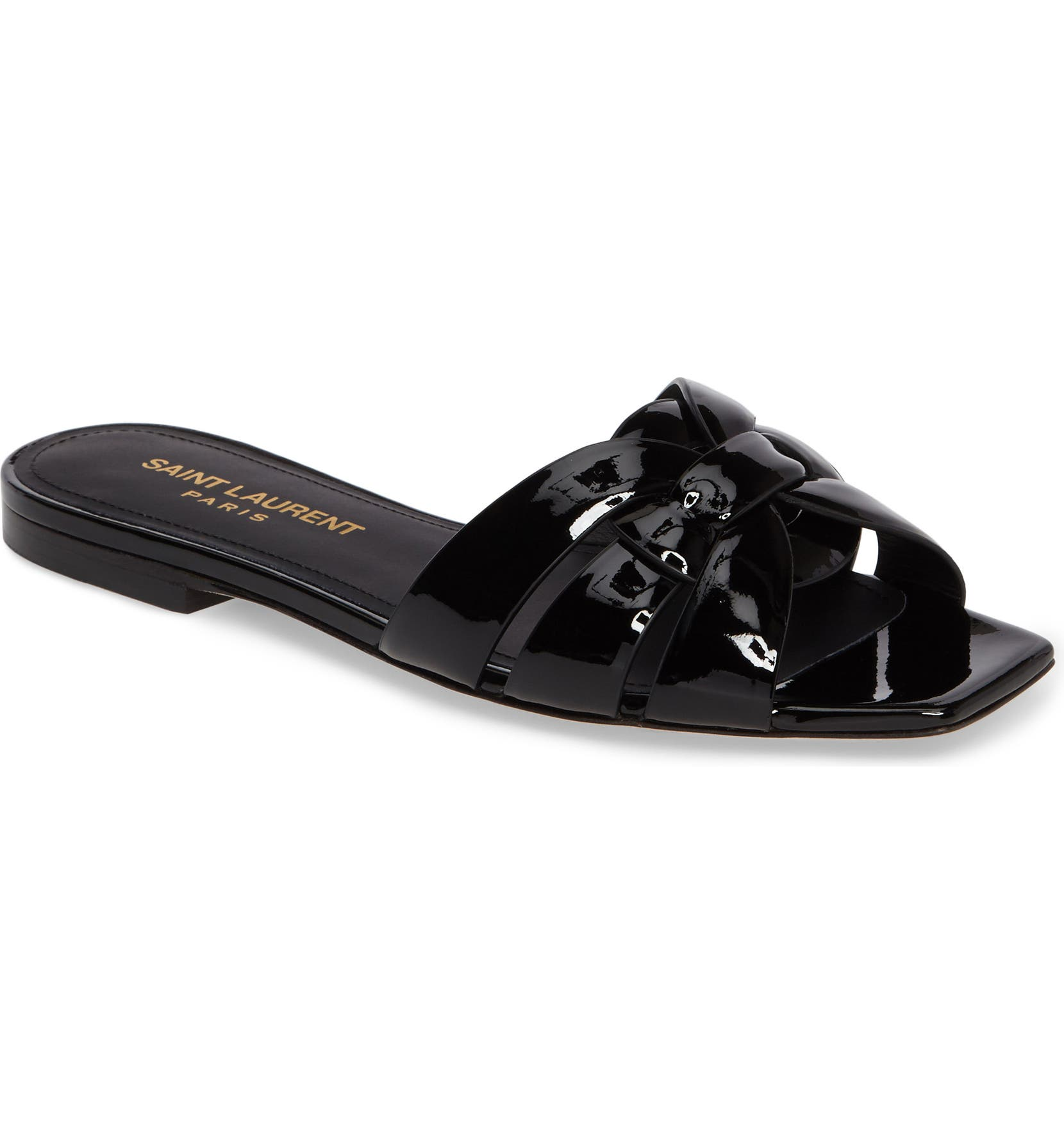 b4a8fccd7 Saint Laurent Tribute Slide Sandal (Women)