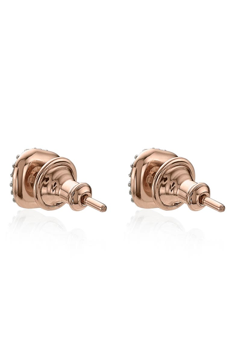 bf89d4063e132 Nura Mini Teardrop 18Ct Rose-Gold Vermeil And Diamond Stud Earrings in  Harrods