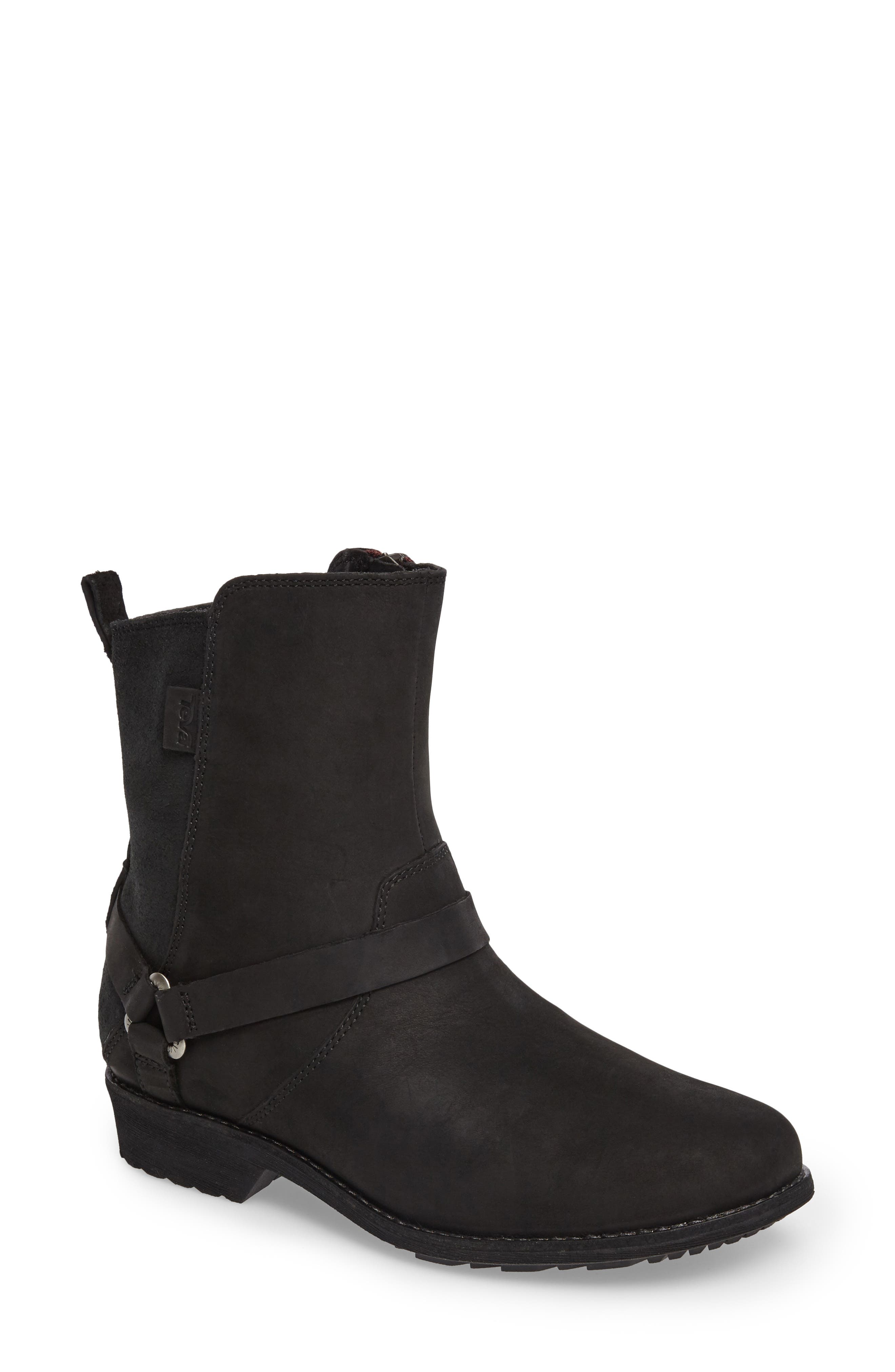 Teva De La Vina Dos Waterproof Boot- Black