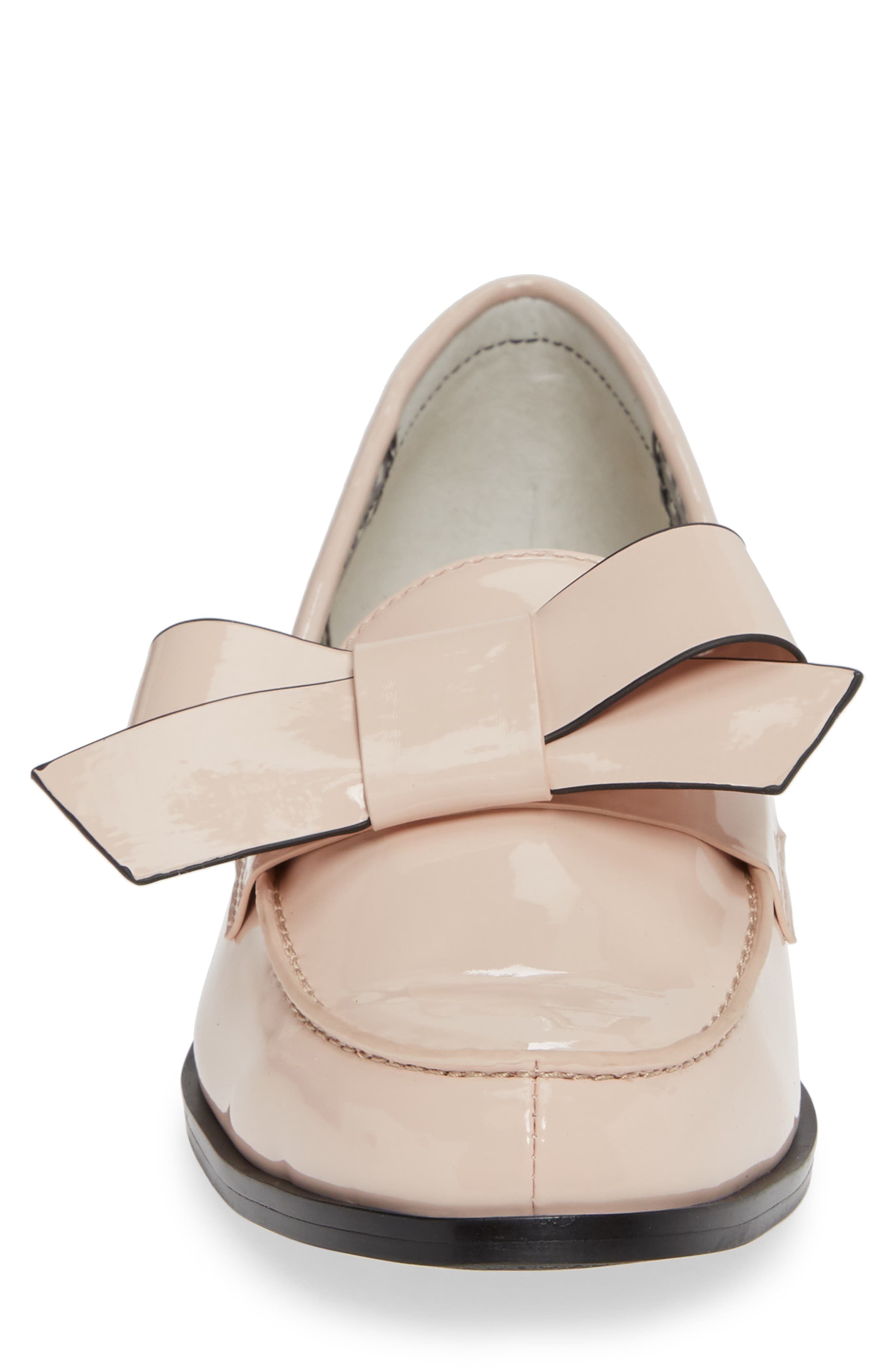 1901, Reenie Loafer, Alternate thumbnail 4, color, BLUSH PATENT PU