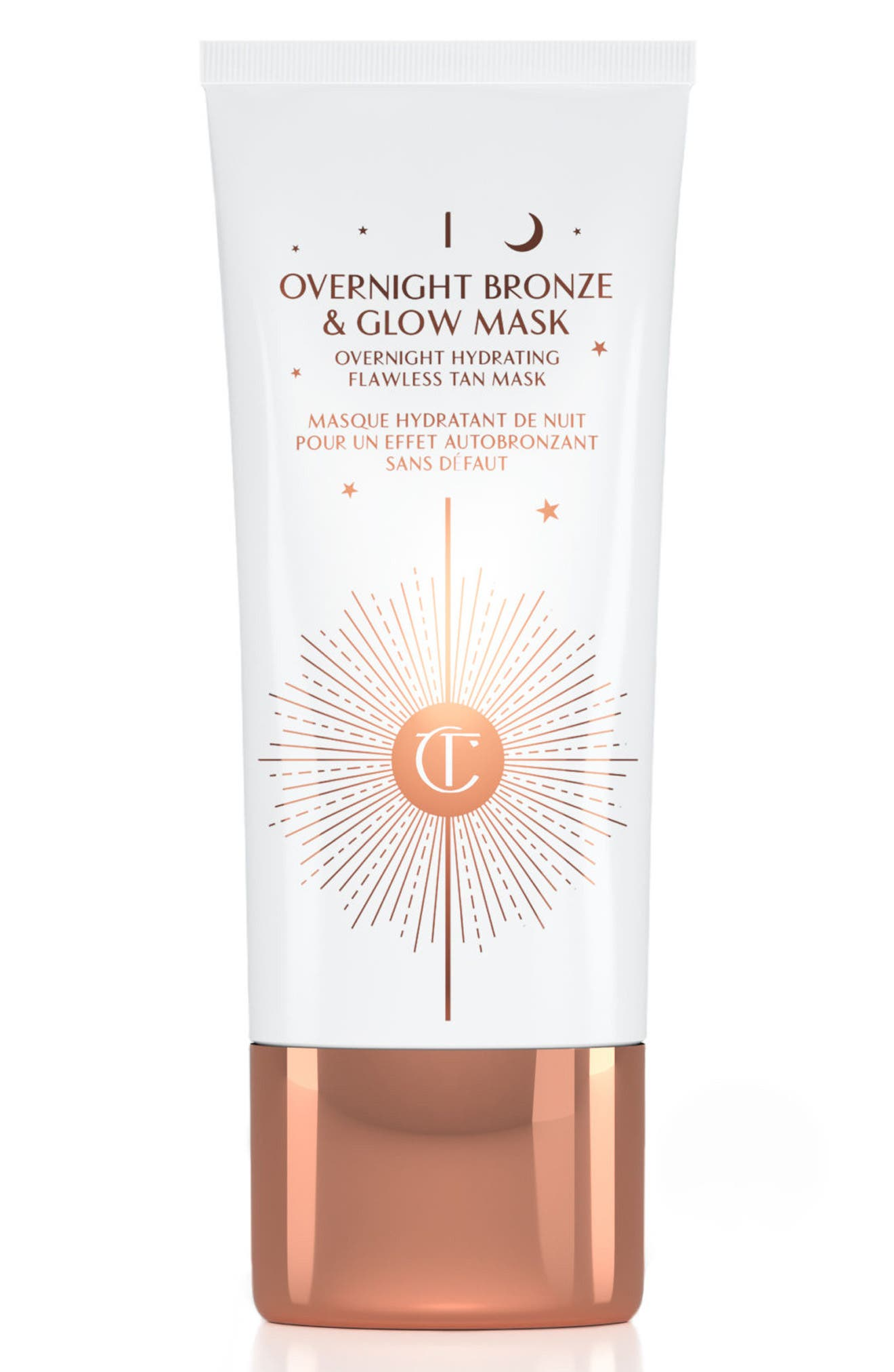 CHARLOTTE TILBURY Overnight Bronze & Glow Mask, Main, color, NO COLOR