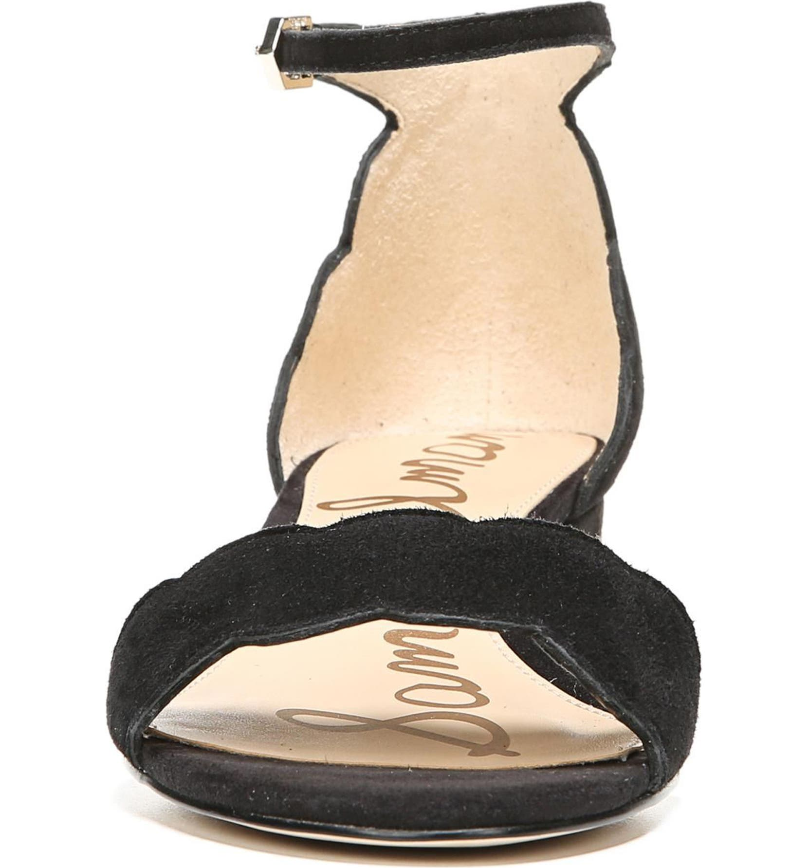 1391c92dd Sam Edelman Inara Scalloped Block Heel Sandal (Women)