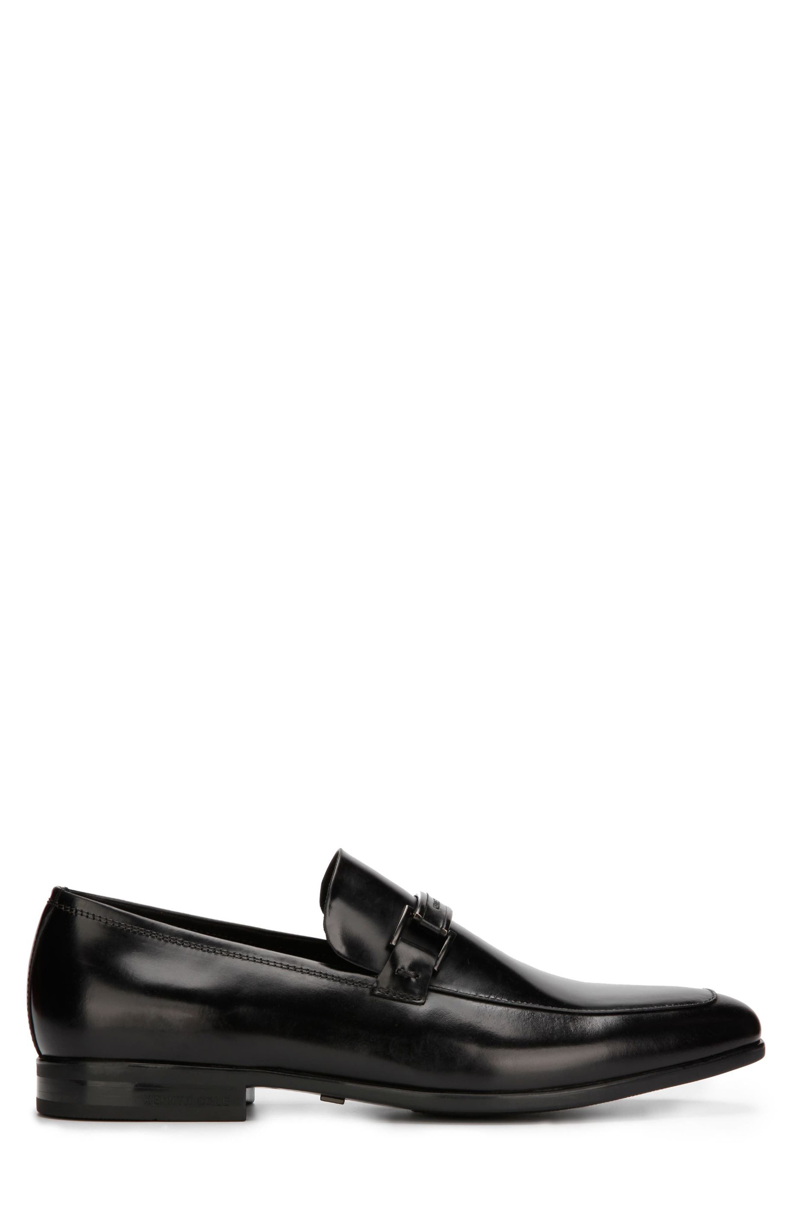 KENNETH COLE NEW YORK, Aaron Toe Loafer, Alternate thumbnail 2, color, 001