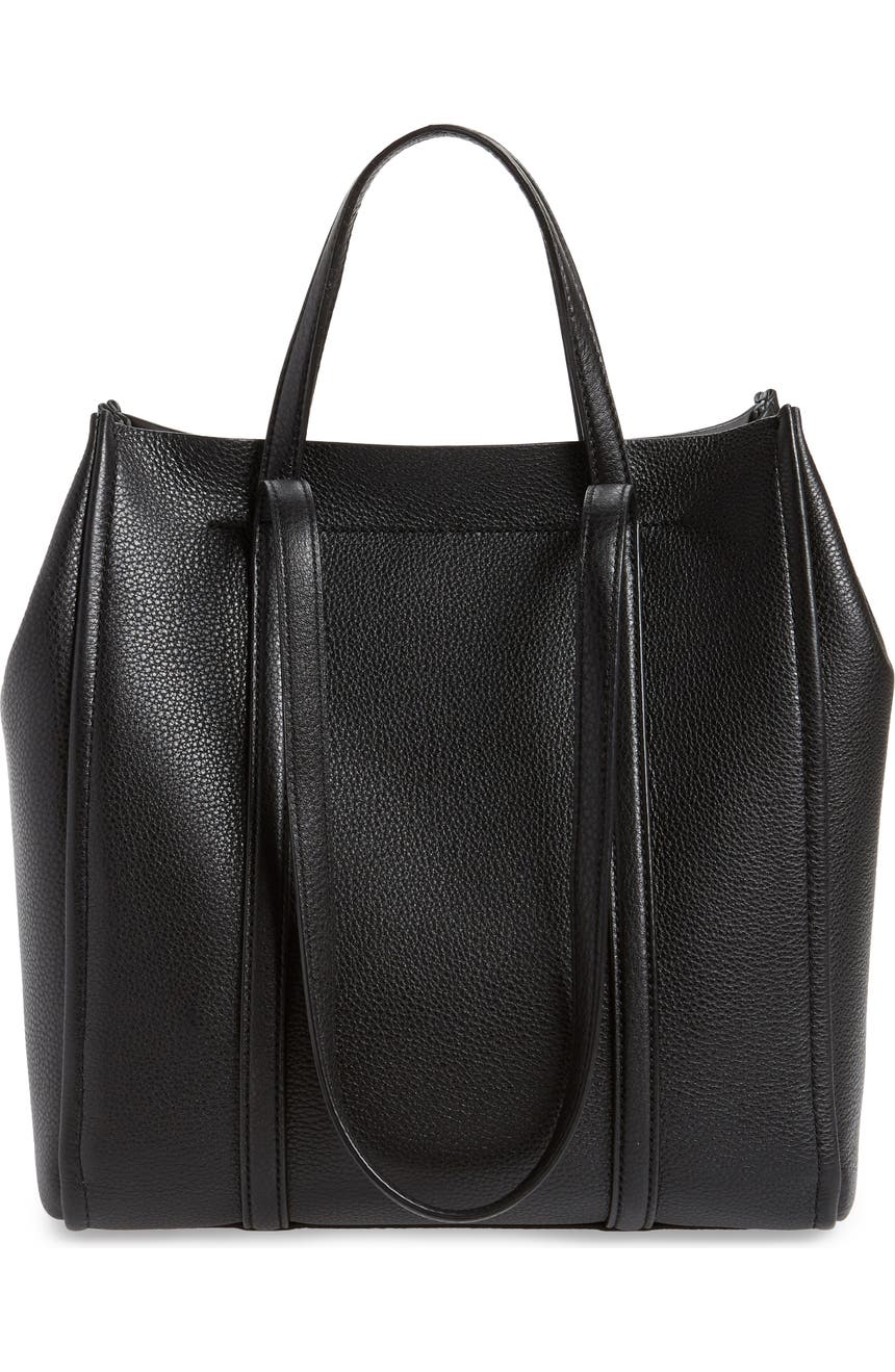 0d7344eef60 MARC JACOBS The Tag 27 Leather Tote