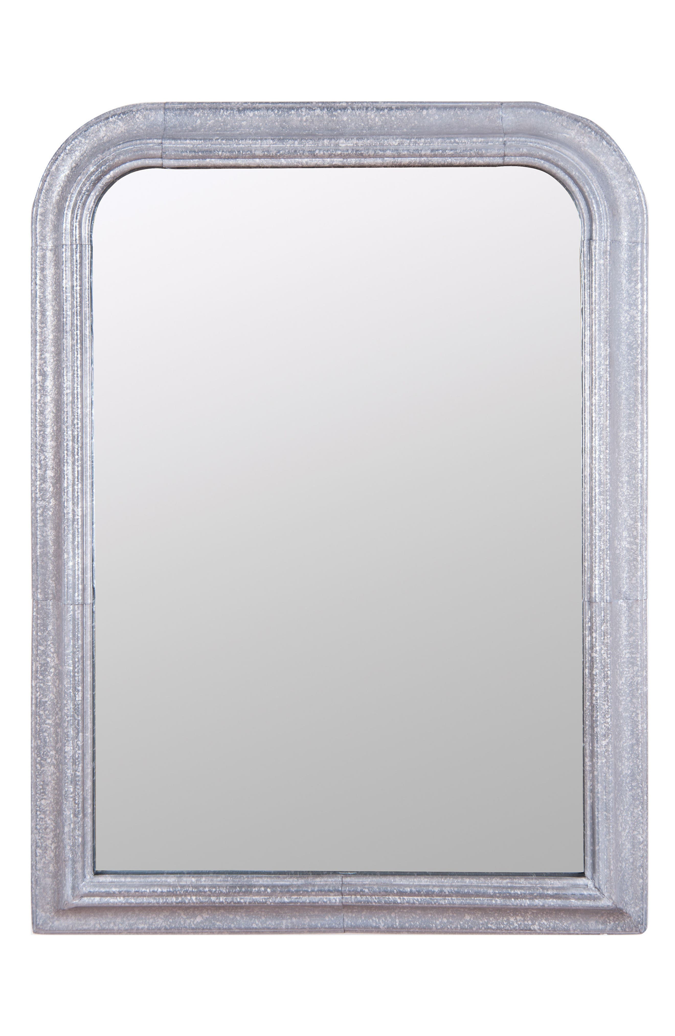 FORESIDE, Galvanized Wall Mirror, Main thumbnail 1, color, 040