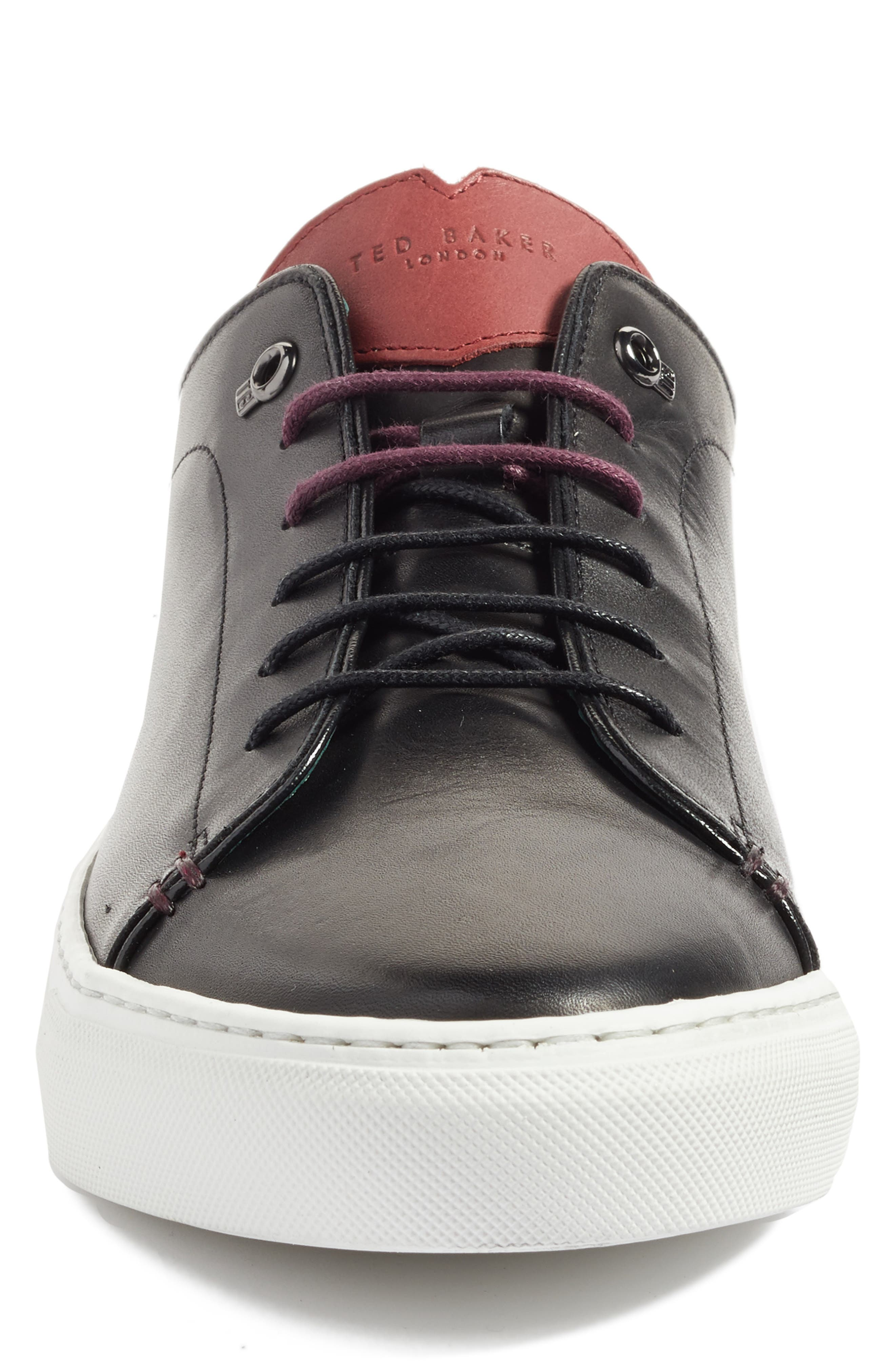 TED BAKER LONDON, 'Kiing Classic' Sneaker, Alternate thumbnail 2, color, 001