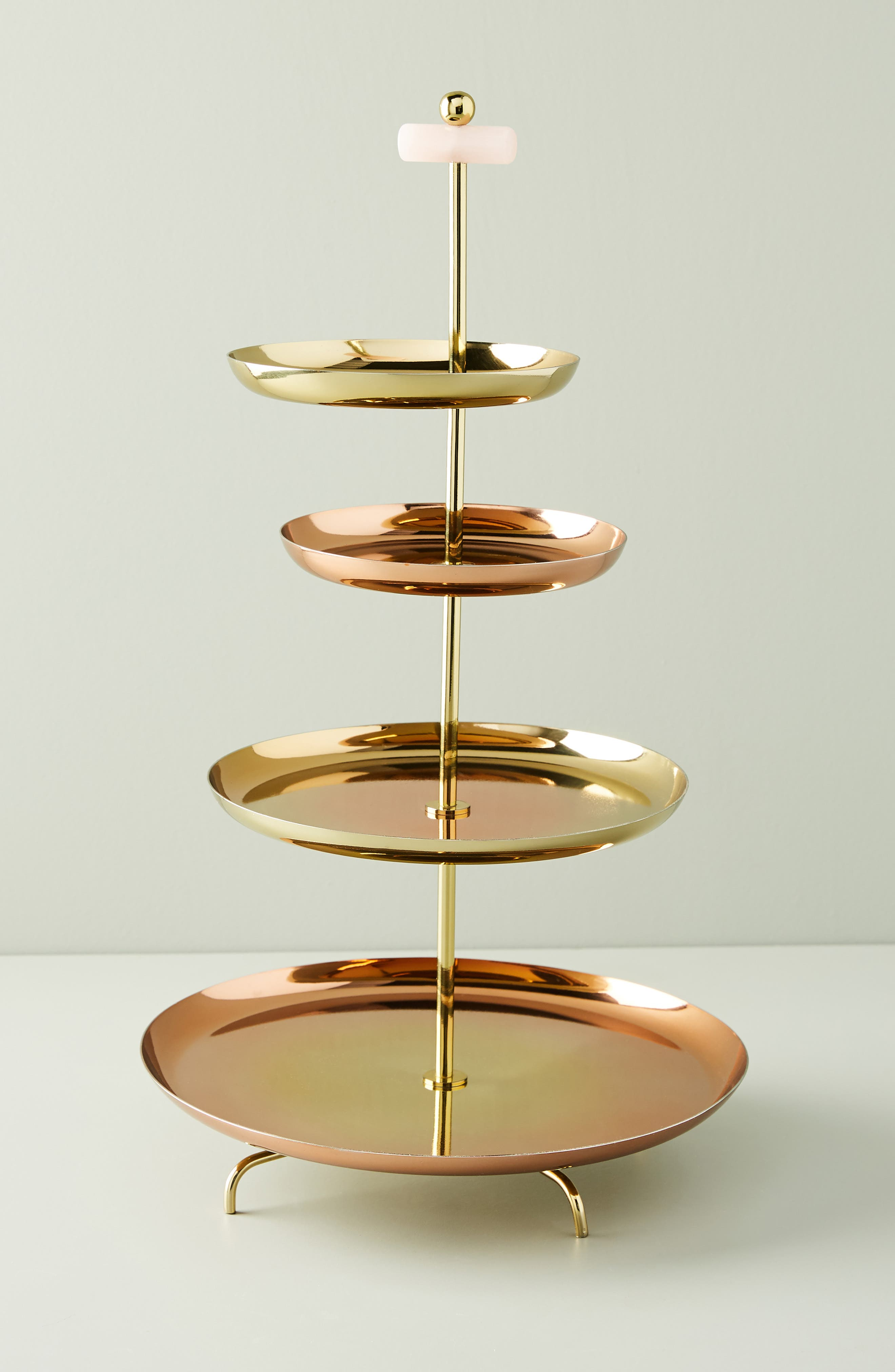 ANTHROPOLOGIE Glam Cookie Stand, Main, color, FLAME