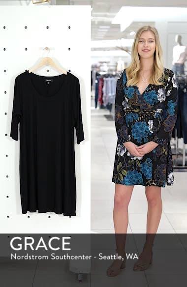 Scoop Neck Jersey Dress, sales video thumbnail