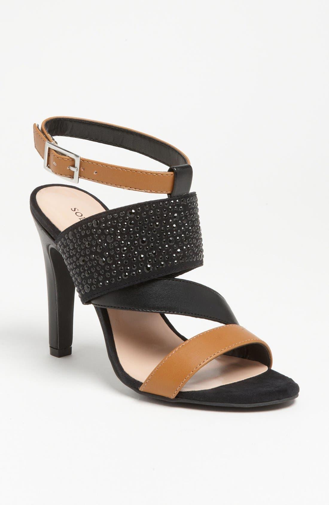 SOLE SOCIETY, 'Savannah' Sandal, Main thumbnail 1, color, 210