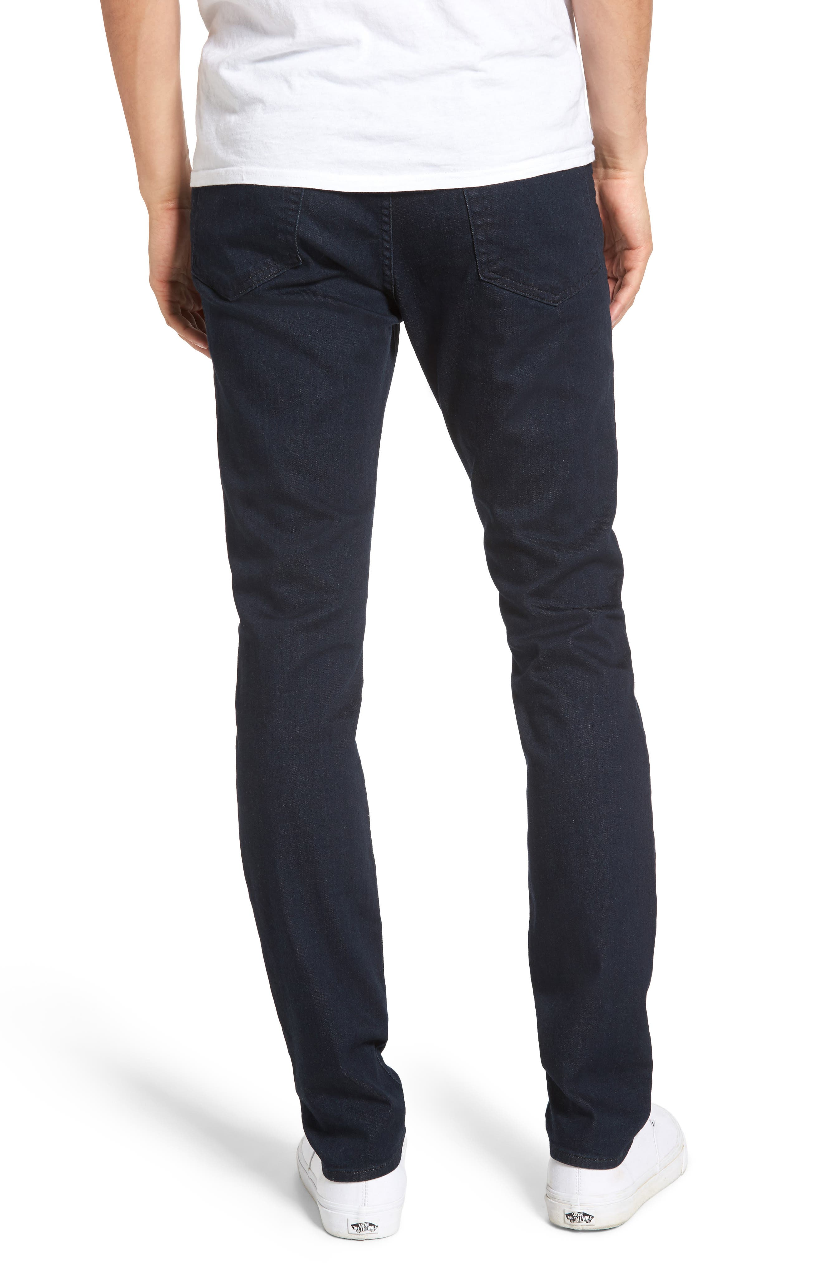 FRAME, L'Homme Skinny Fit Jeans, Alternate thumbnail 2, color, EDISON
