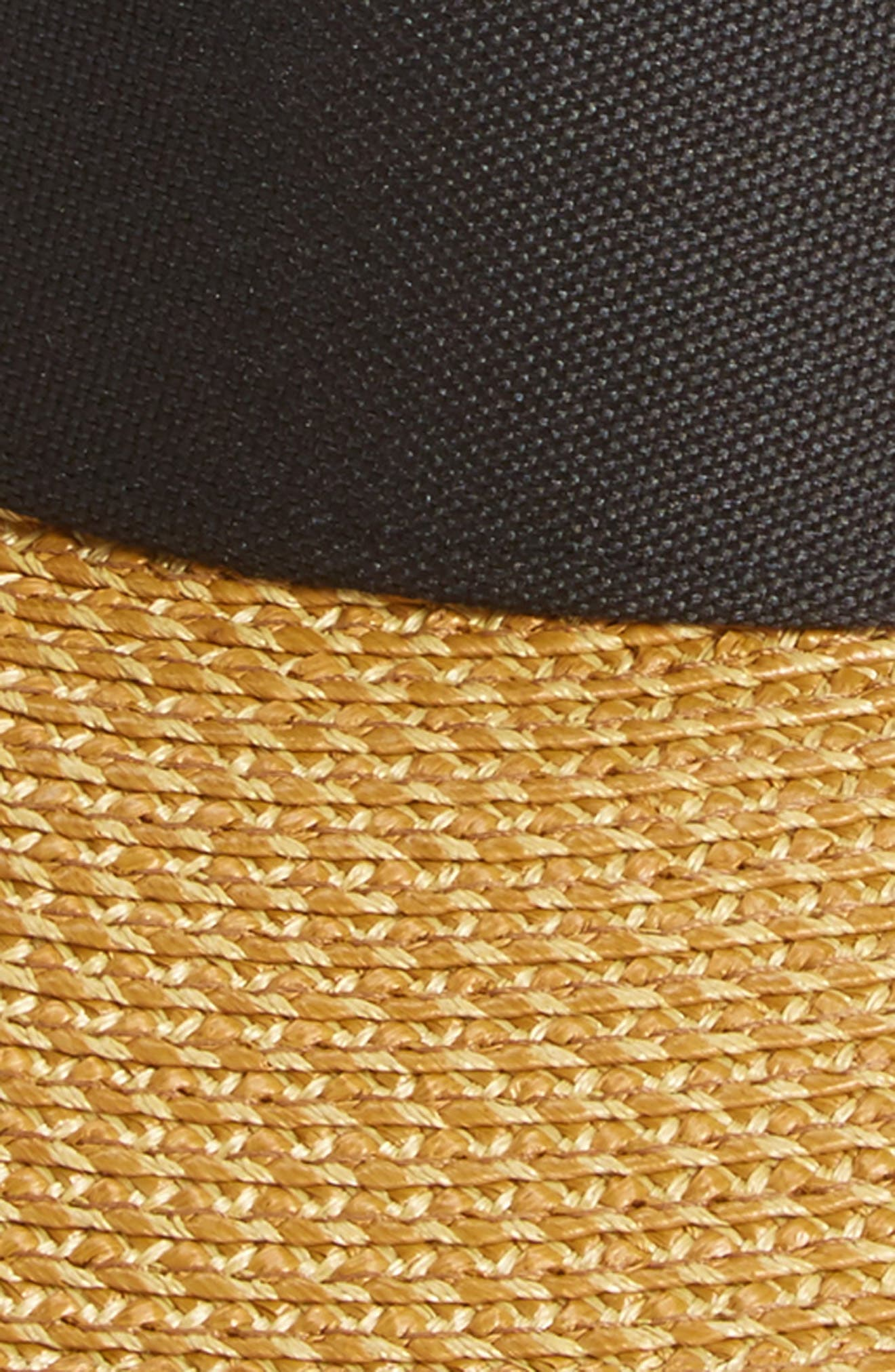ERIC JAVITS, 'Squishee<sup>®</sup> Champ' Custom Fit Visor, Alternate thumbnail 3, color, BLACK