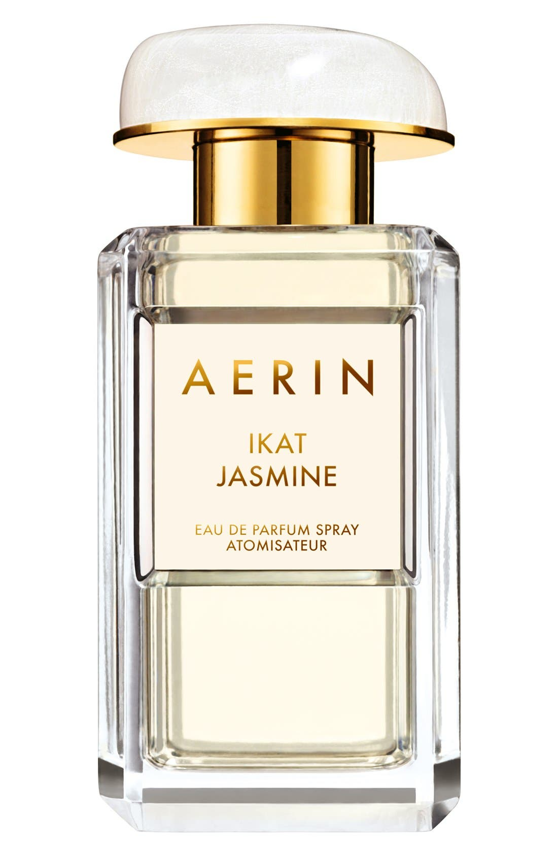 ESTÉE LAUDER, AERIN Beauty Ikat Jasmine Eau de Parfum Spray, Main thumbnail 1, color, NO COLOR