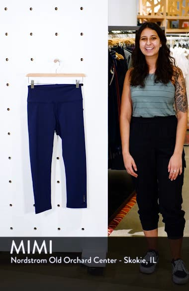 The Active High Waist Crop Leggings, sales video thumbnail
