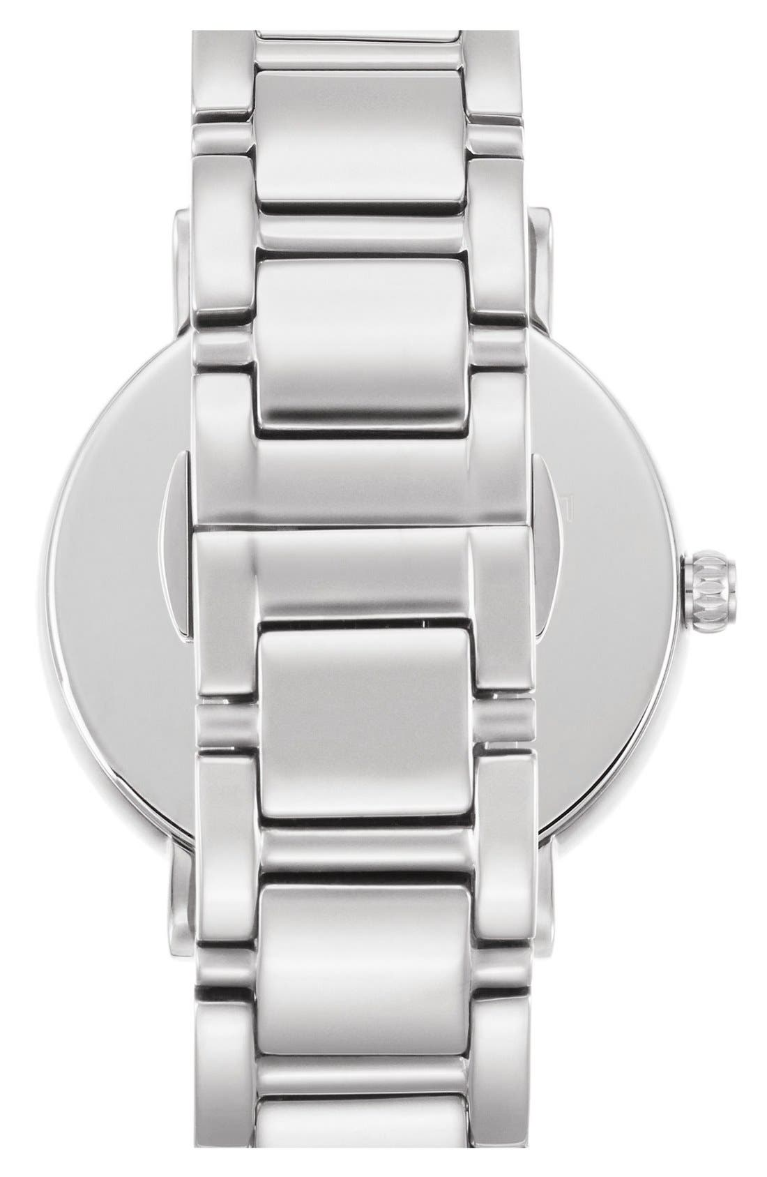 KATE SPADE NEW YORK, 'gramercy' mother-of-pearl bracelet watch, 34mm, Alternate thumbnail 2, color, 040