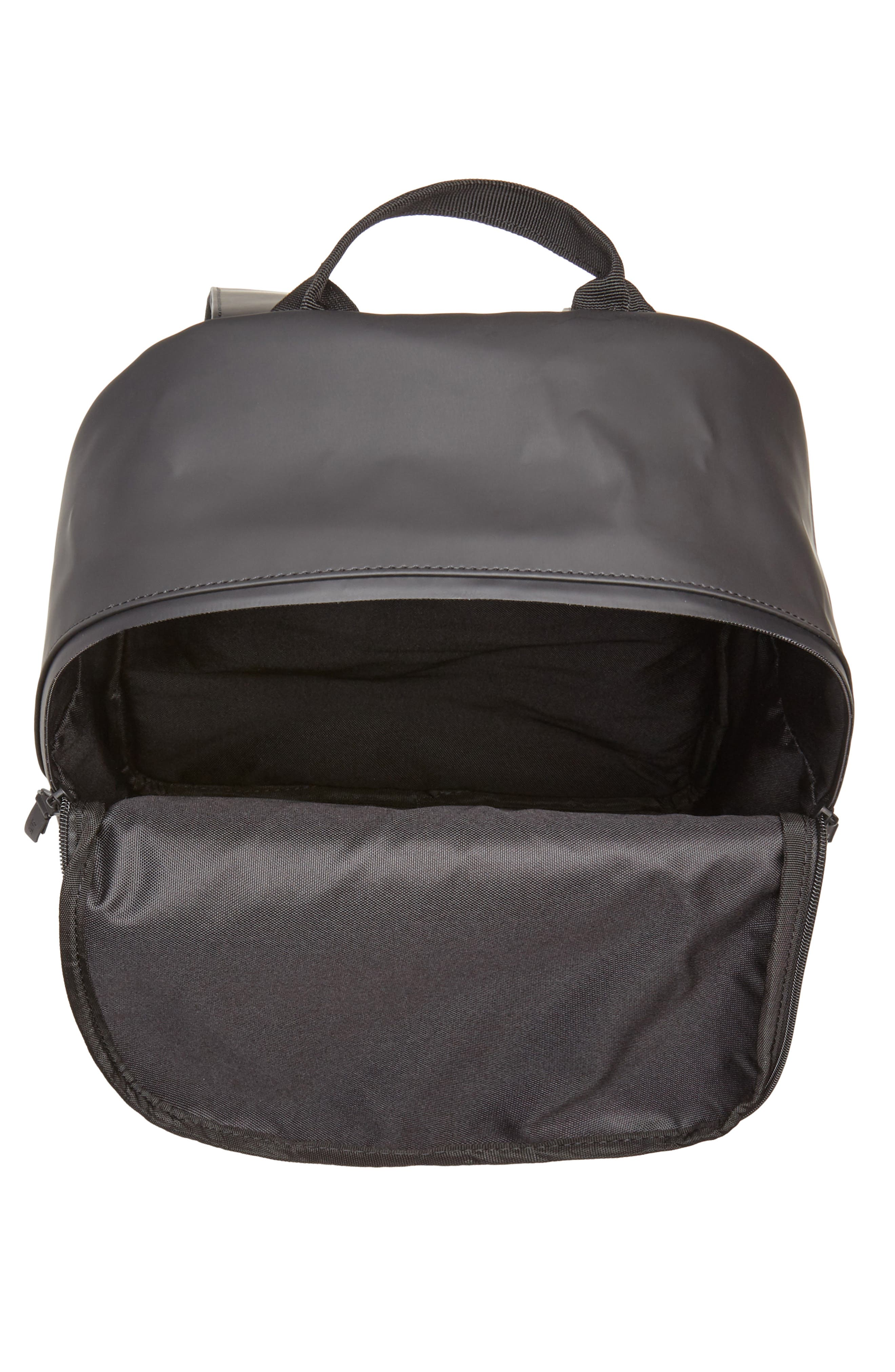RAINS, Field Backpack, Alternate thumbnail 5, color, BLACK
