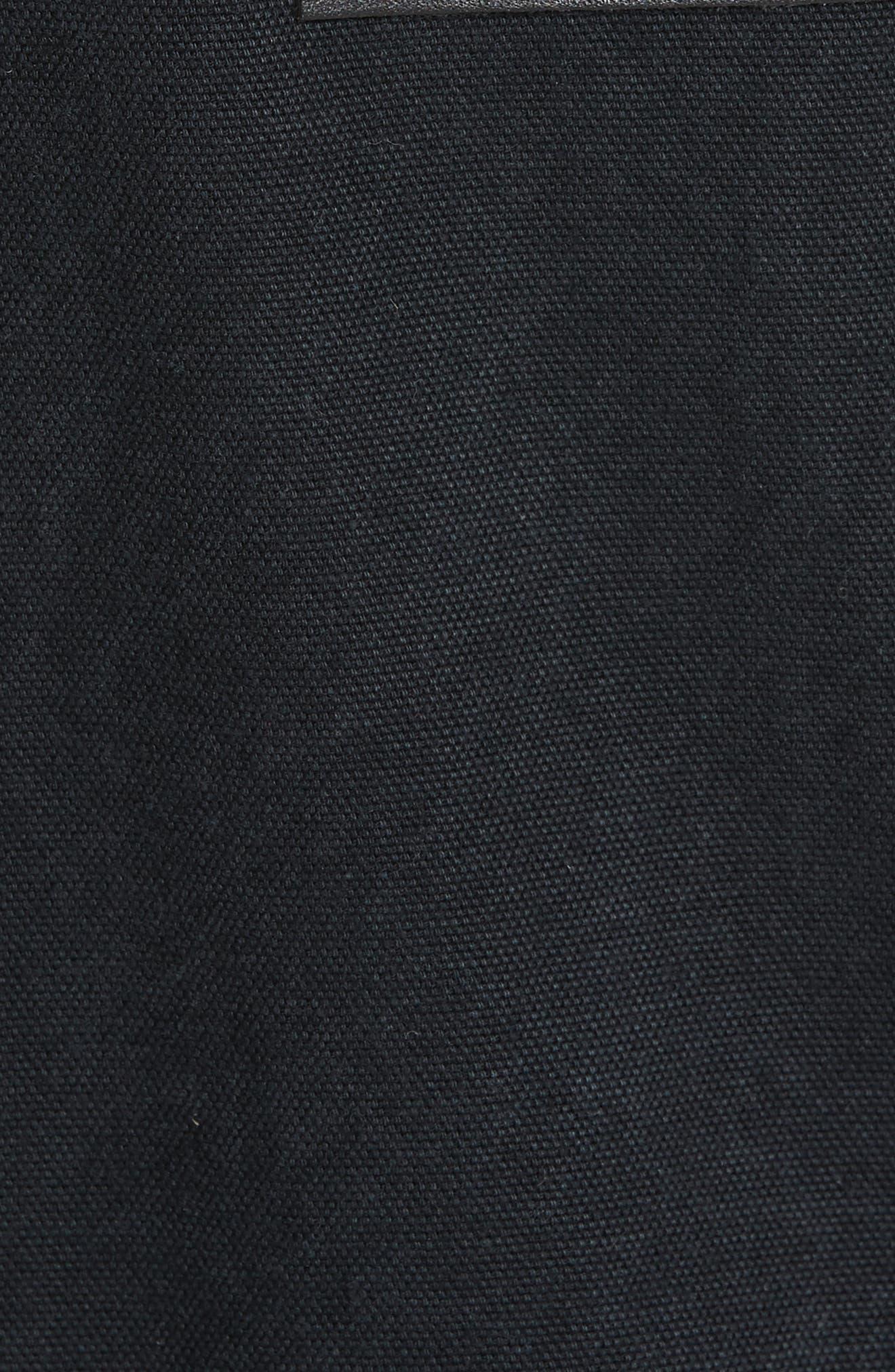 TU ES MON TRÉSOR, Imitation Pearl Embellished Overalls, Alternate thumbnail 5, color, 001