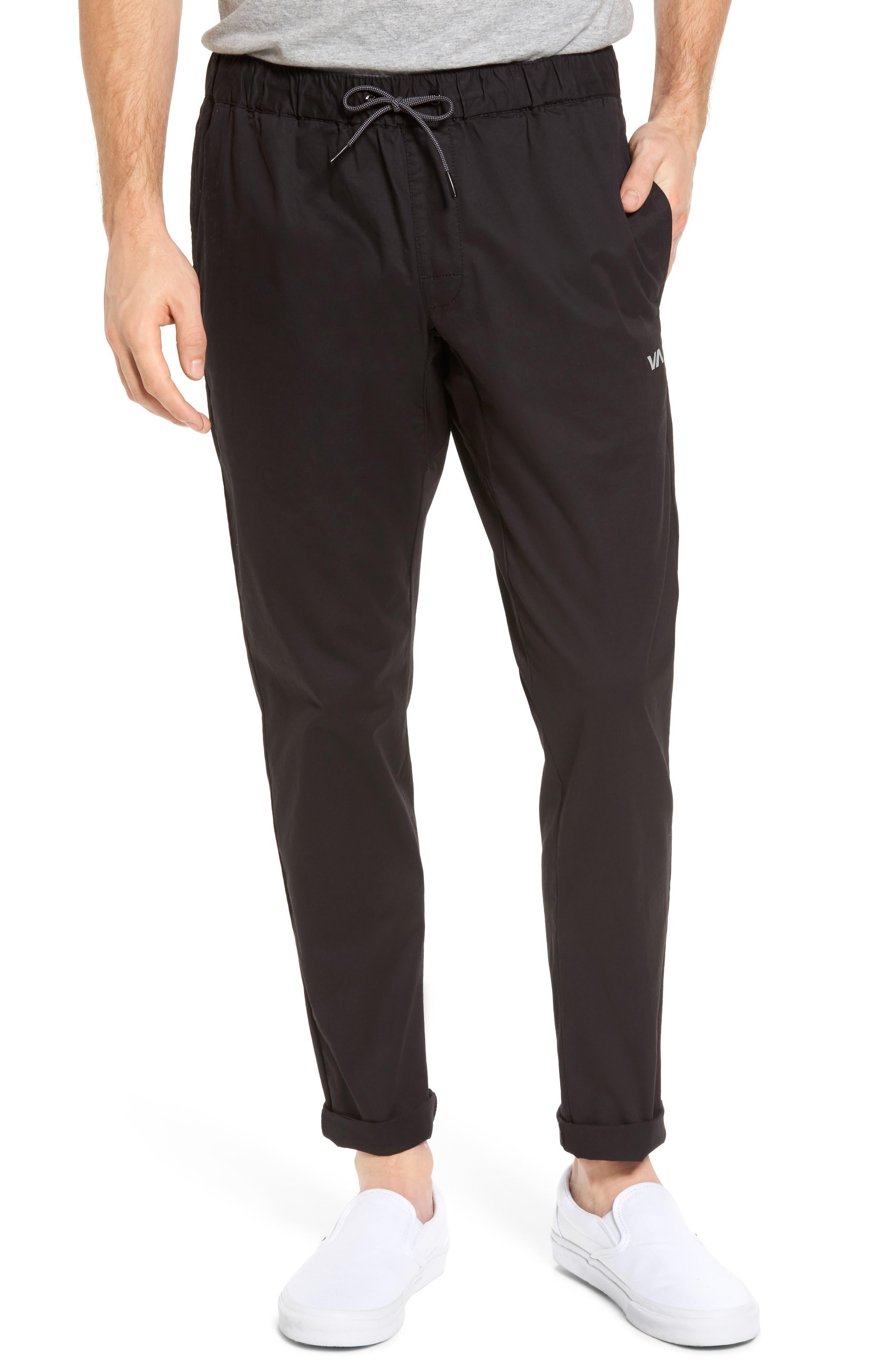 RVCA Spectrum Sport Pants, Main, color, 001