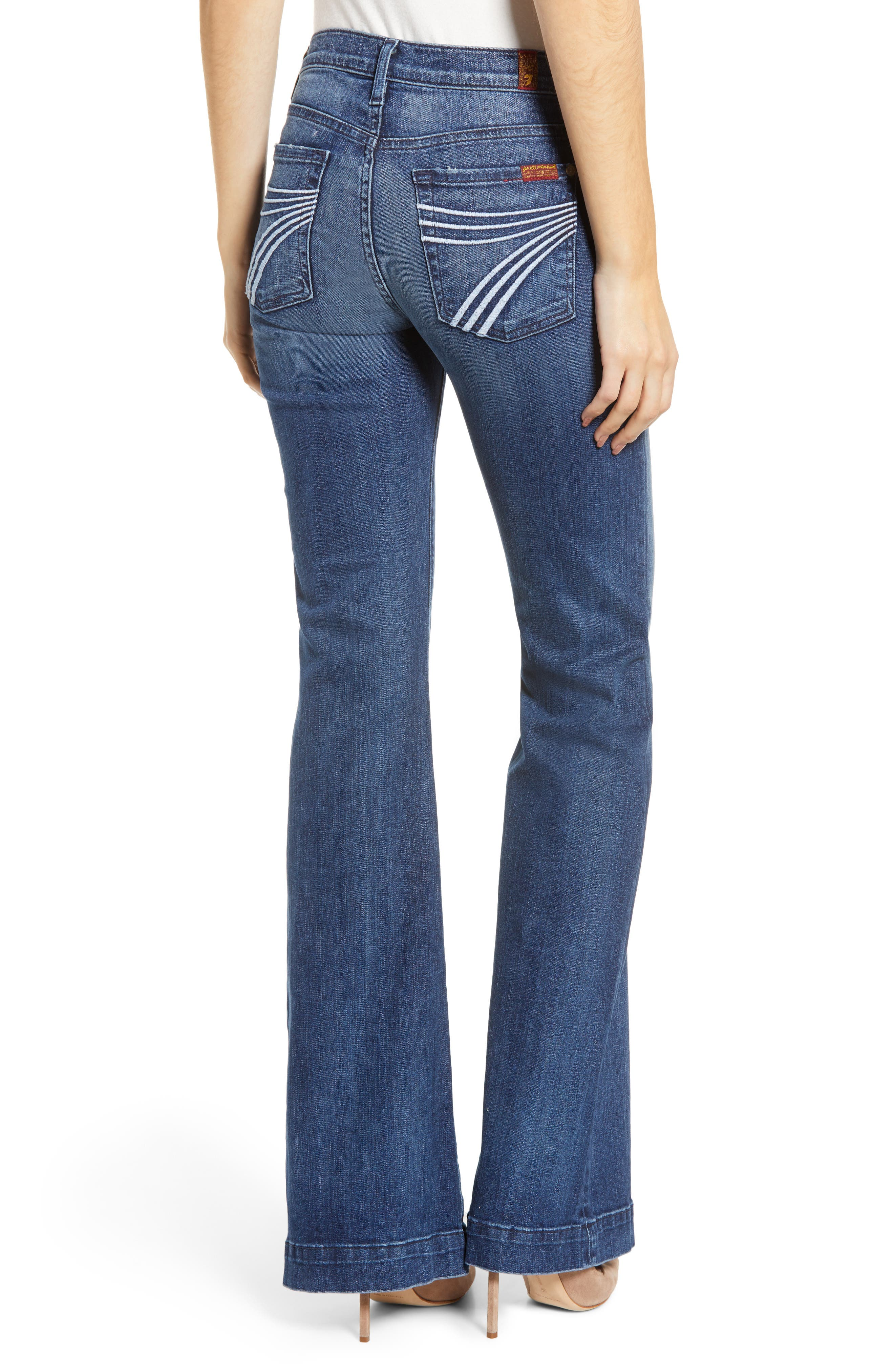 7 FOR ALL MANKIND<SUP>®</SUP>, b(air) Dojo Trouser Jeans, Alternate thumbnail 4, color, 472