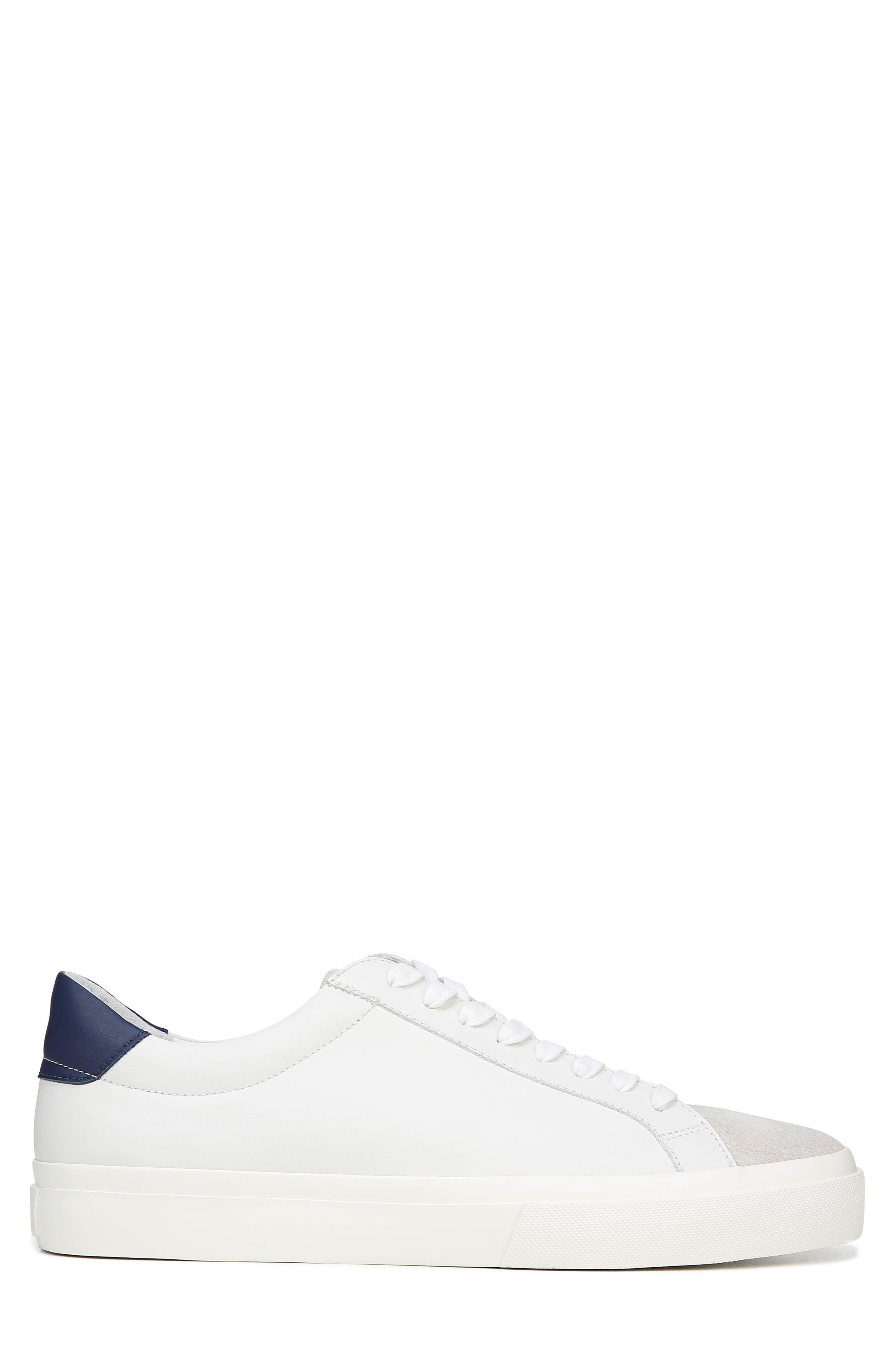 VINCE, Fulton Sneaker, Alternate thumbnail 3, color, WHITE