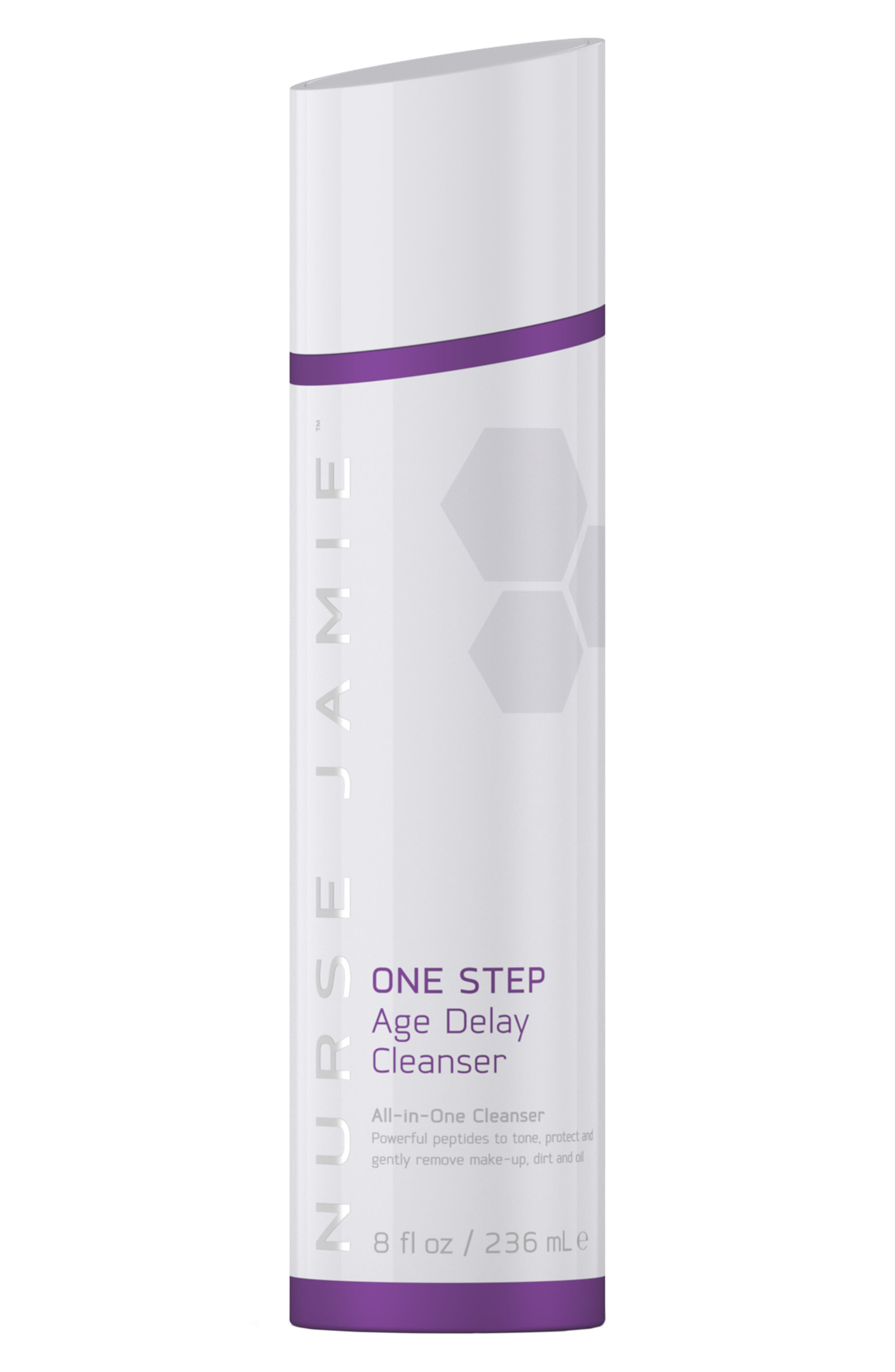 NURSE JAMIE, One Step Age Delay Cleanser, Main thumbnail 1, color, NO COLOR