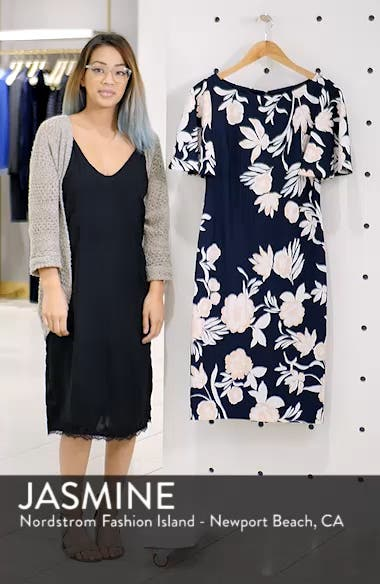 Flounce Sheath Dress, sales video thumbnail